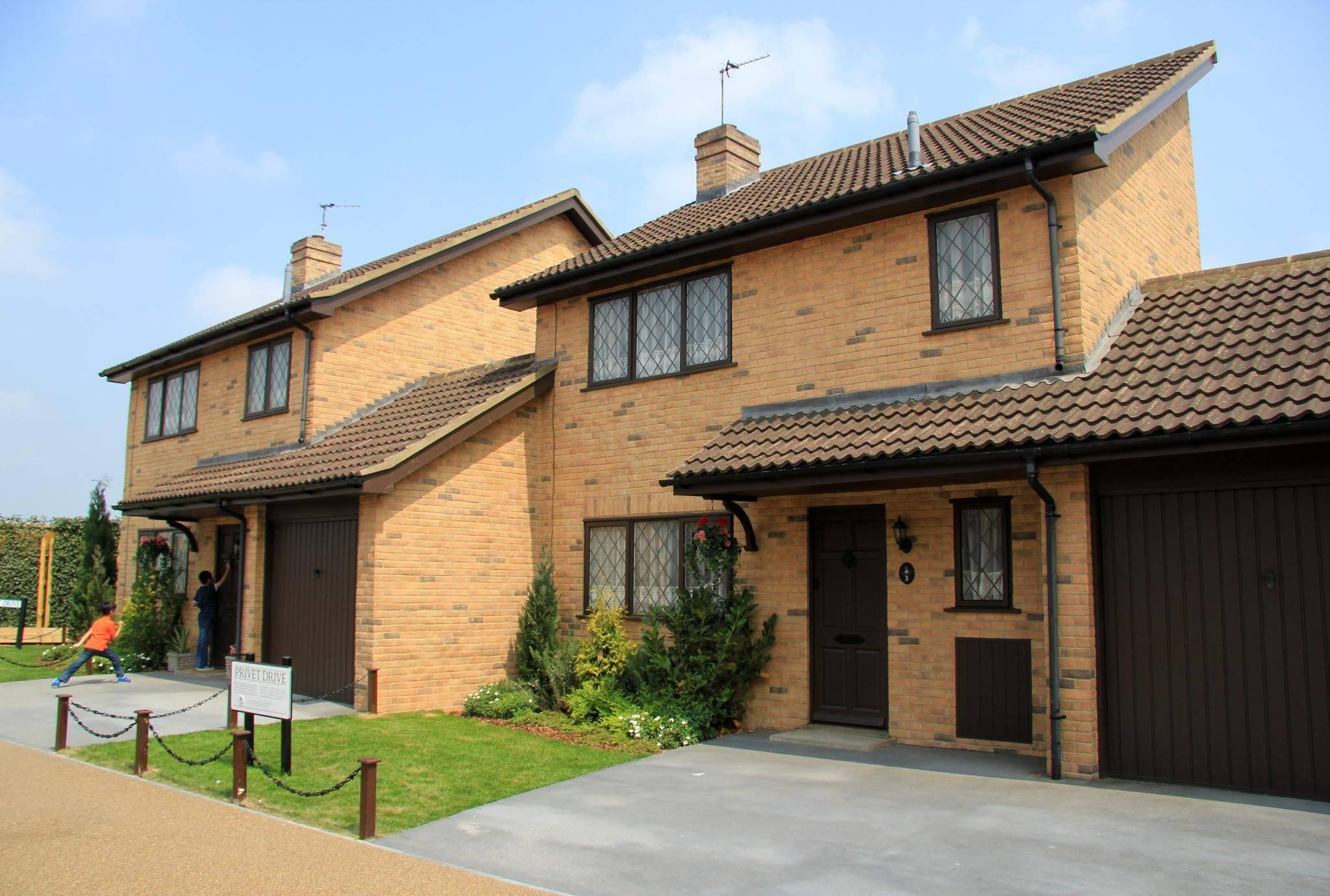 Ein Klinkerhaus aus Bracknell diente als Heim der Dursleys.