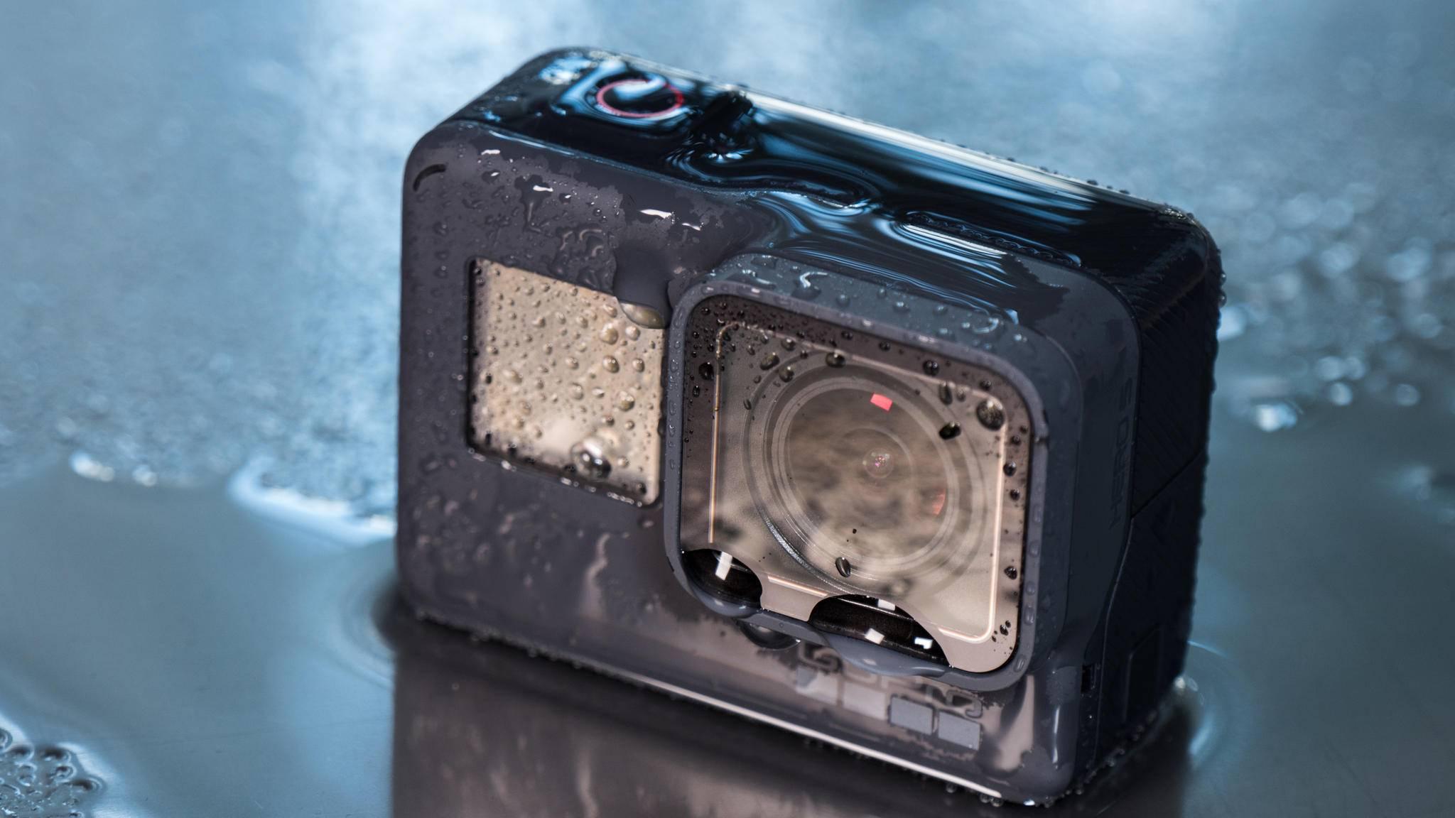 Geht GoPro baden? Das vergangene Quartal lief für den Hersteller nicht gut.