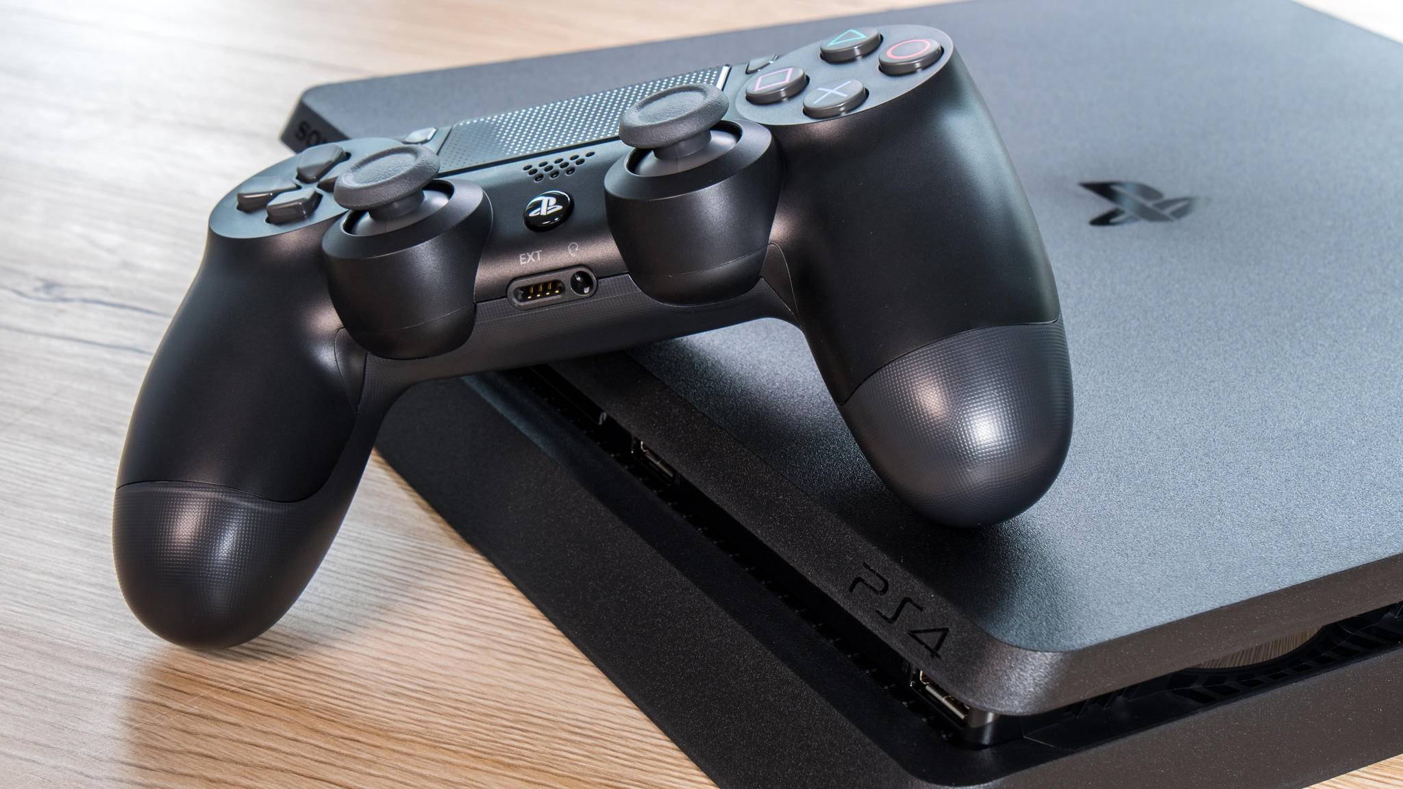 Geht so schnell nicht weg: die PS4.