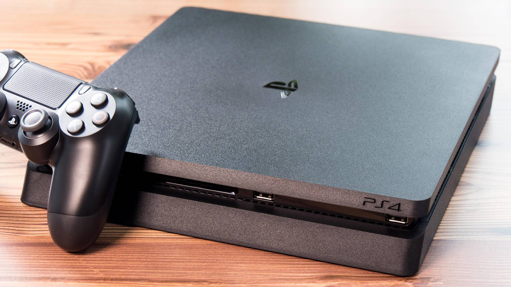 Die PlayStation 4 Slim treibt die PlayStation VR an.