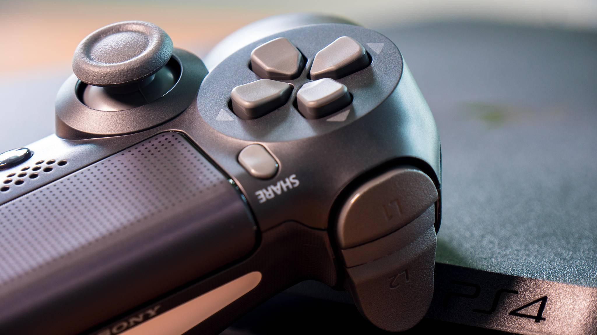 """Dein Eintritt in die Streaming-Welt auf der PS4: die """"Share""""-Taste."""