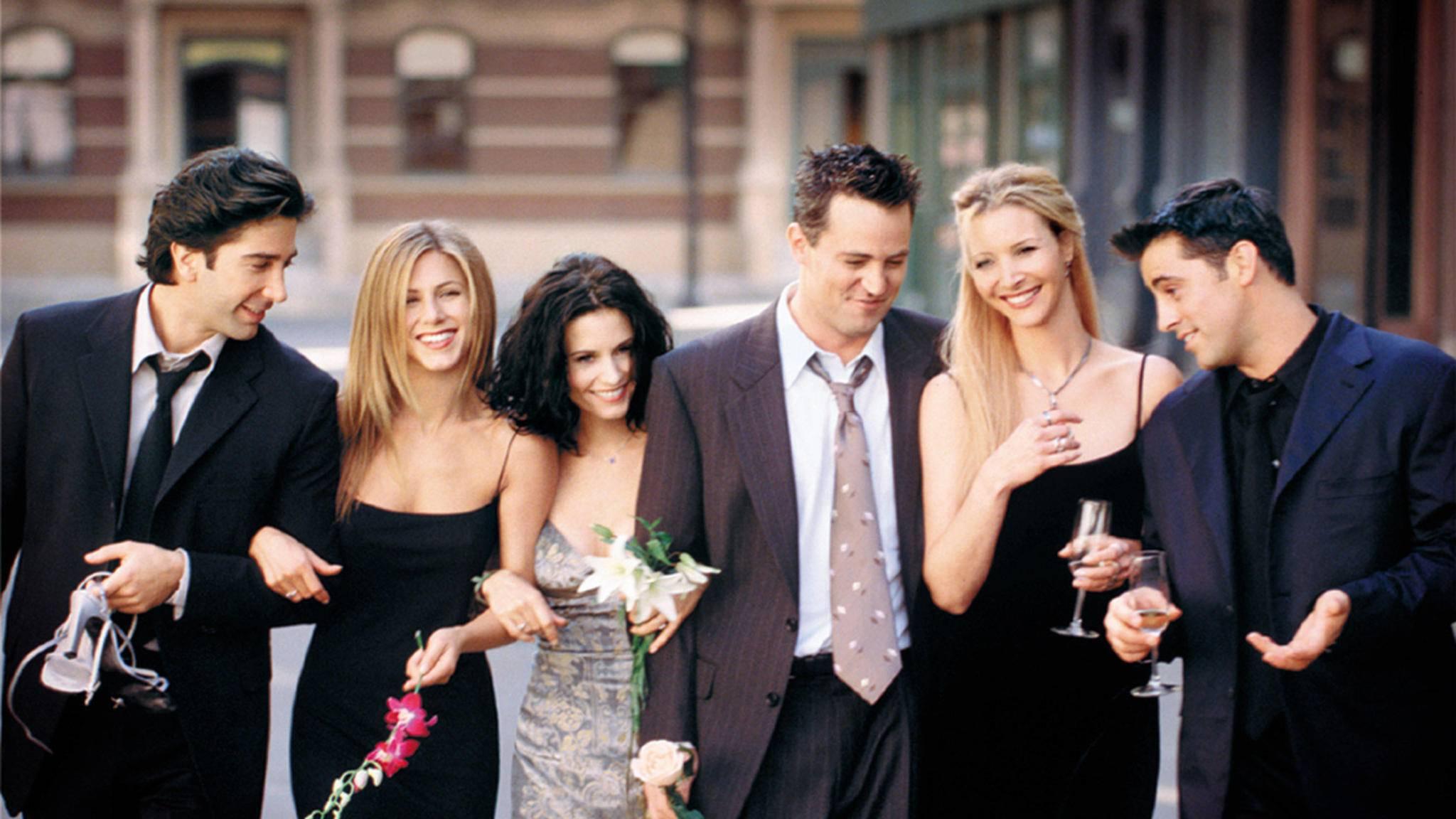 """Bye-bye Netflix: Die """"Friends"""" wechseln zu Warner."""