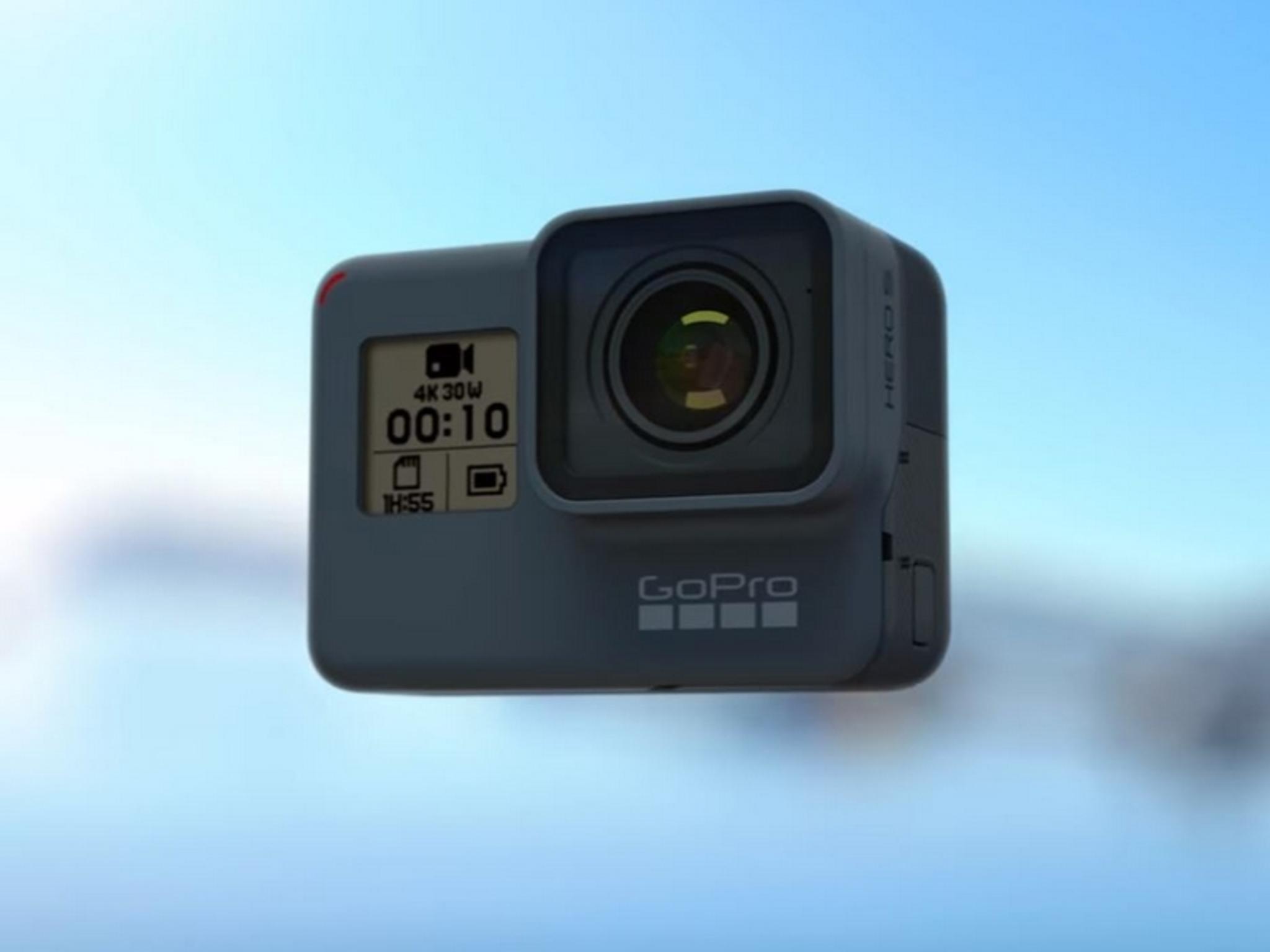 Die GoPro Hero 5 Black ist endlich von sich aus wasserdicht.