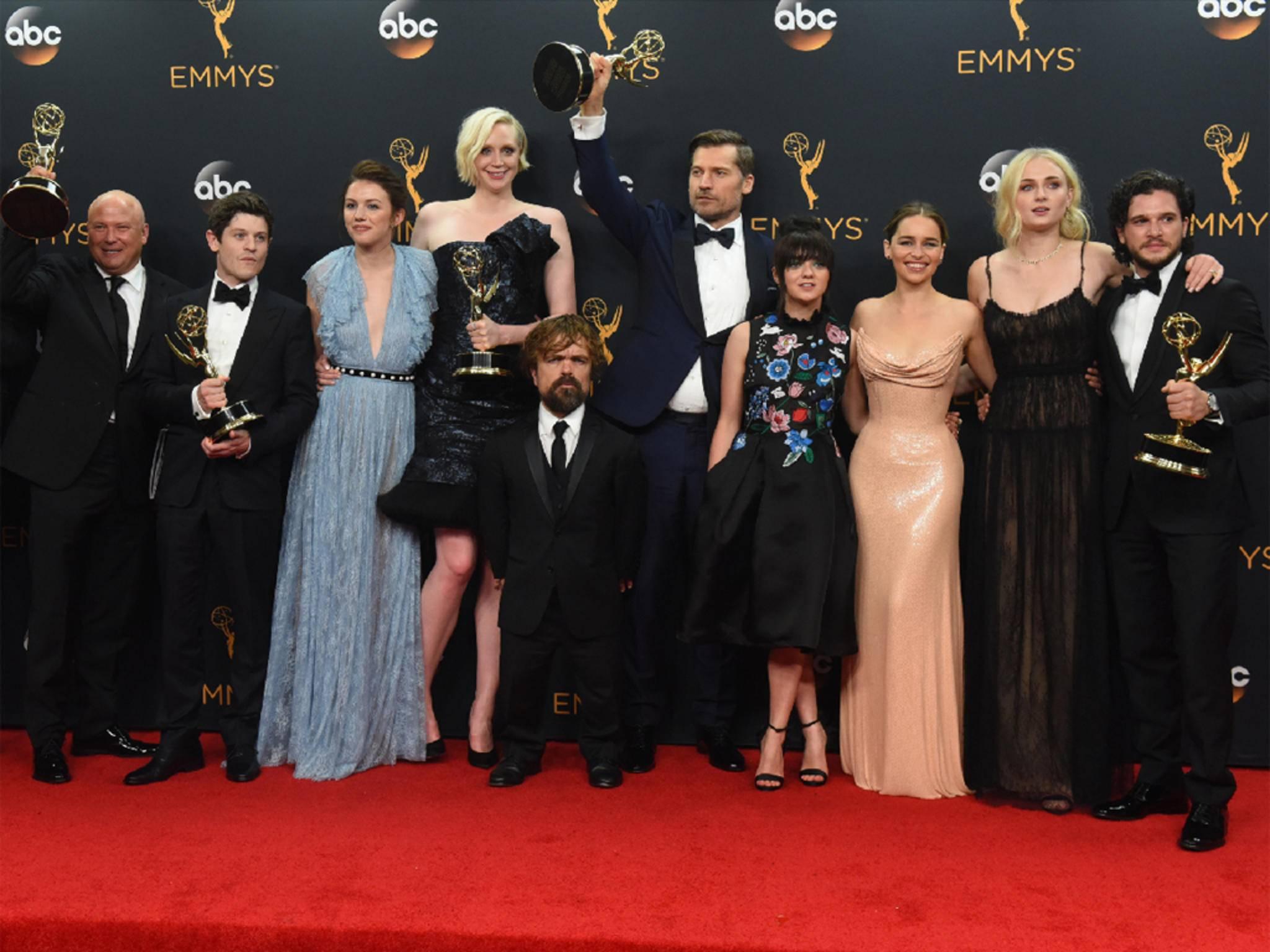 """Rekordhalter: """"Game of Thrones"""" ist die Serie mit den meisten Emmy-Awards."""