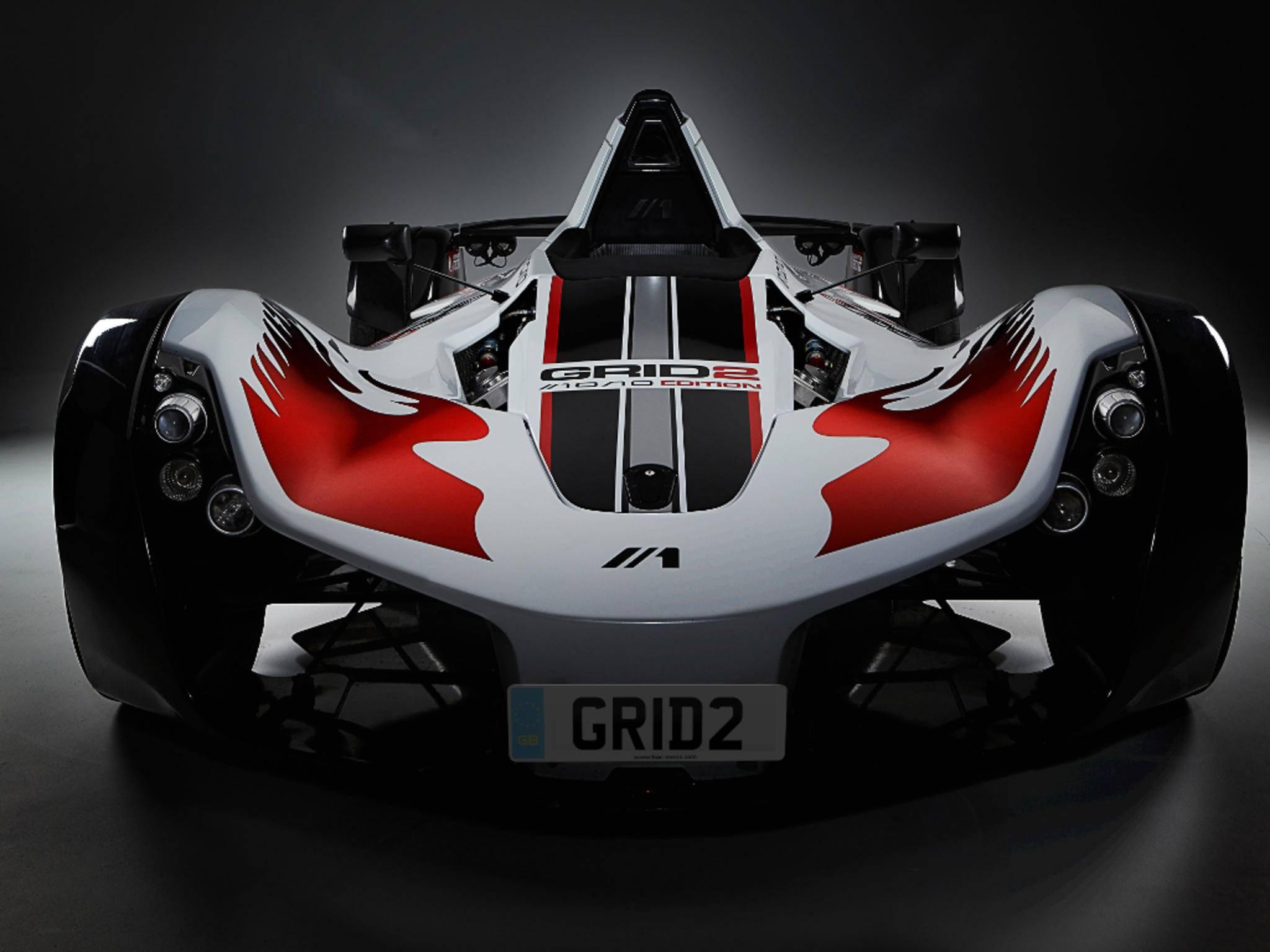 """Bei der Special Edition von """"Grid 2"""" gibt es einen waschechten Rennwagen dazu."""