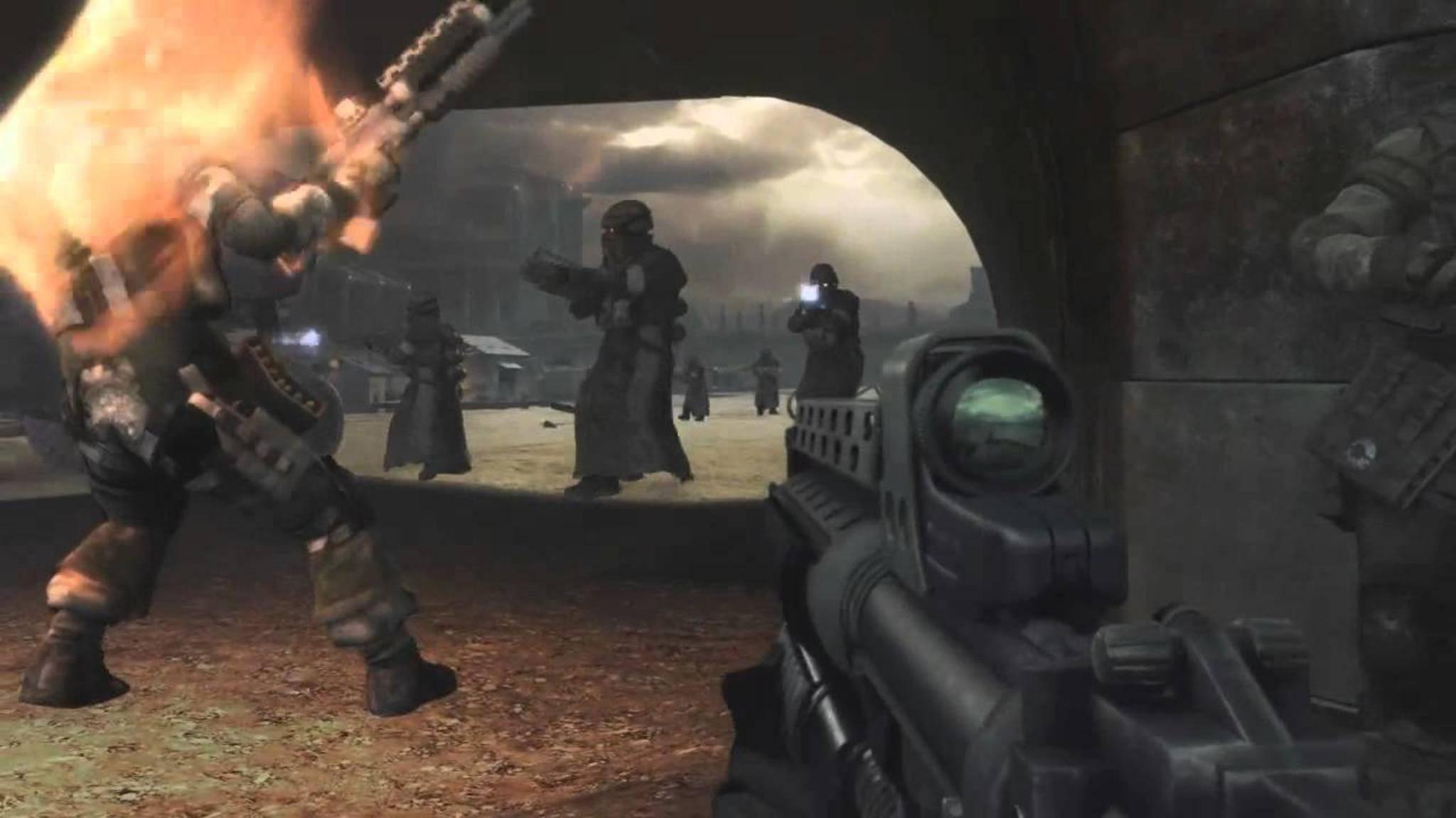 """Das fertige """"Killzone 2"""" konnte leider nicht mit dem ersten E3-Trailer mithalten."""