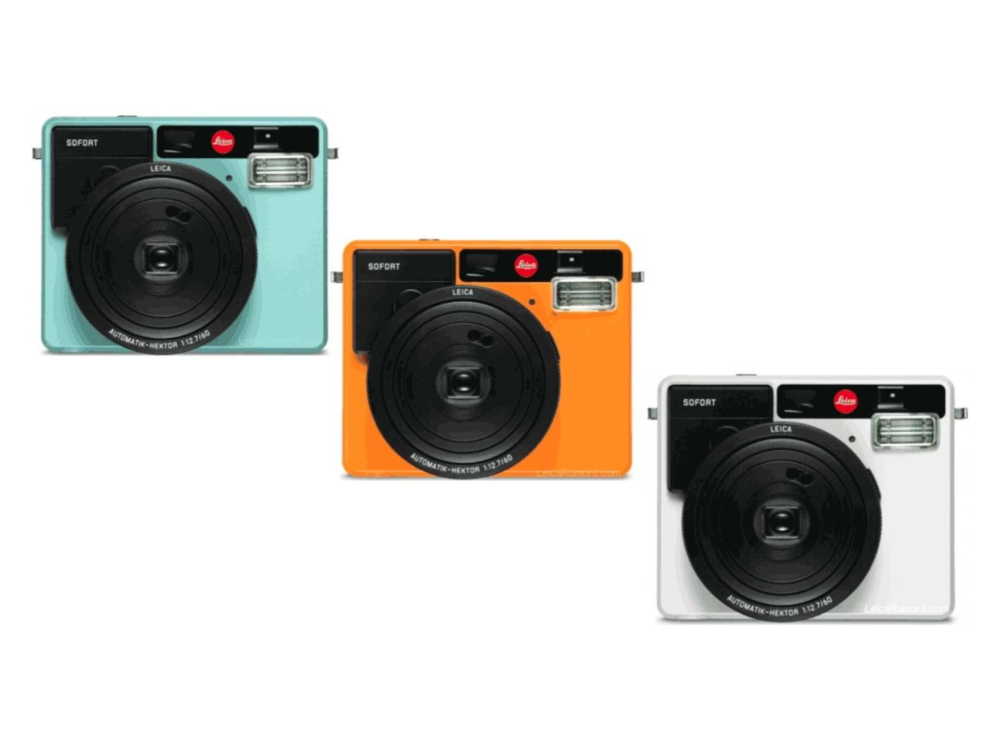 Die Leica Sofort soll am 15. September offiziell vorgestellt werden.