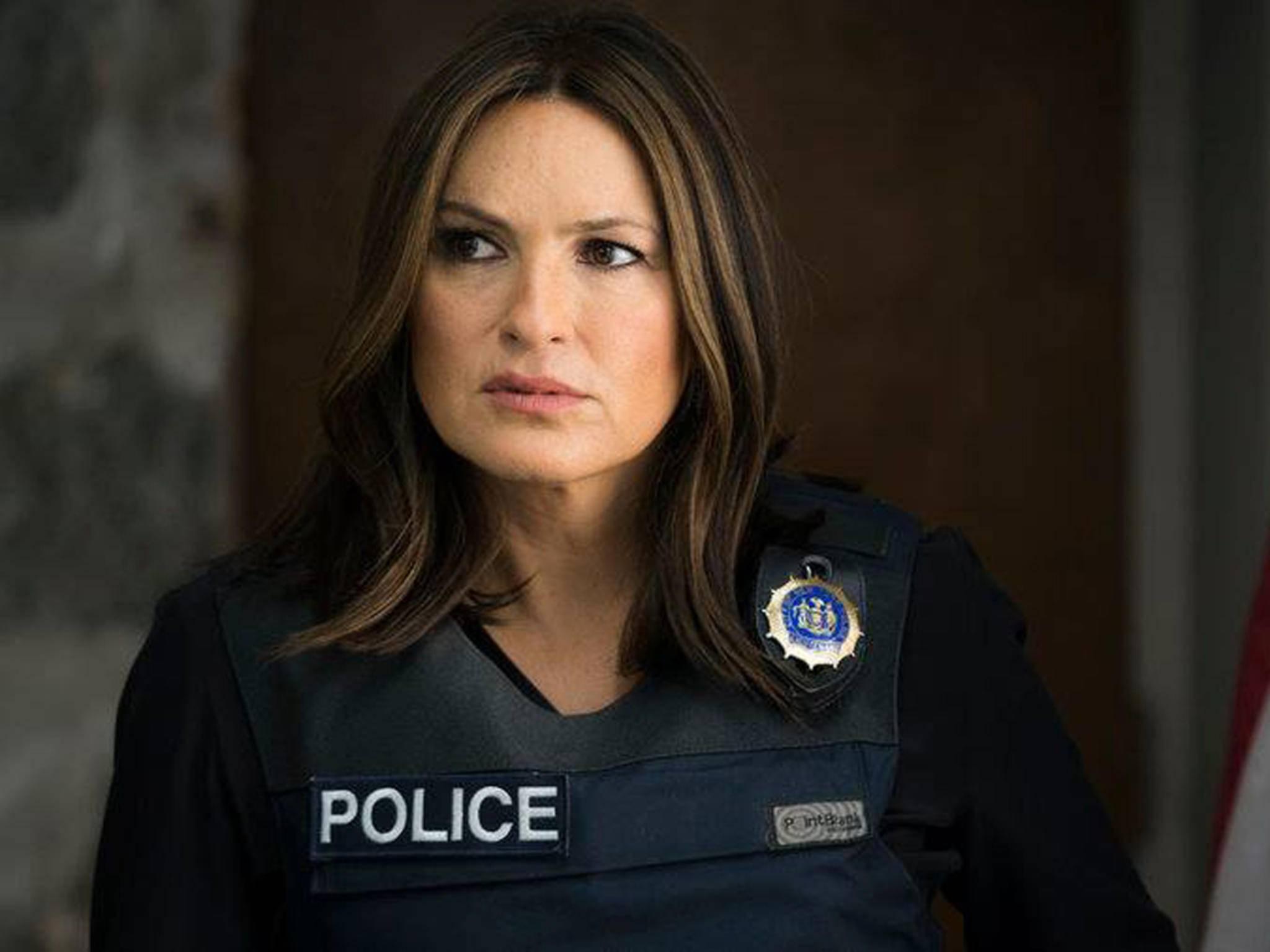 Detective Benson wird über das Frauenbild des fiktiven Politikers nicht gerade amüsiert sein.