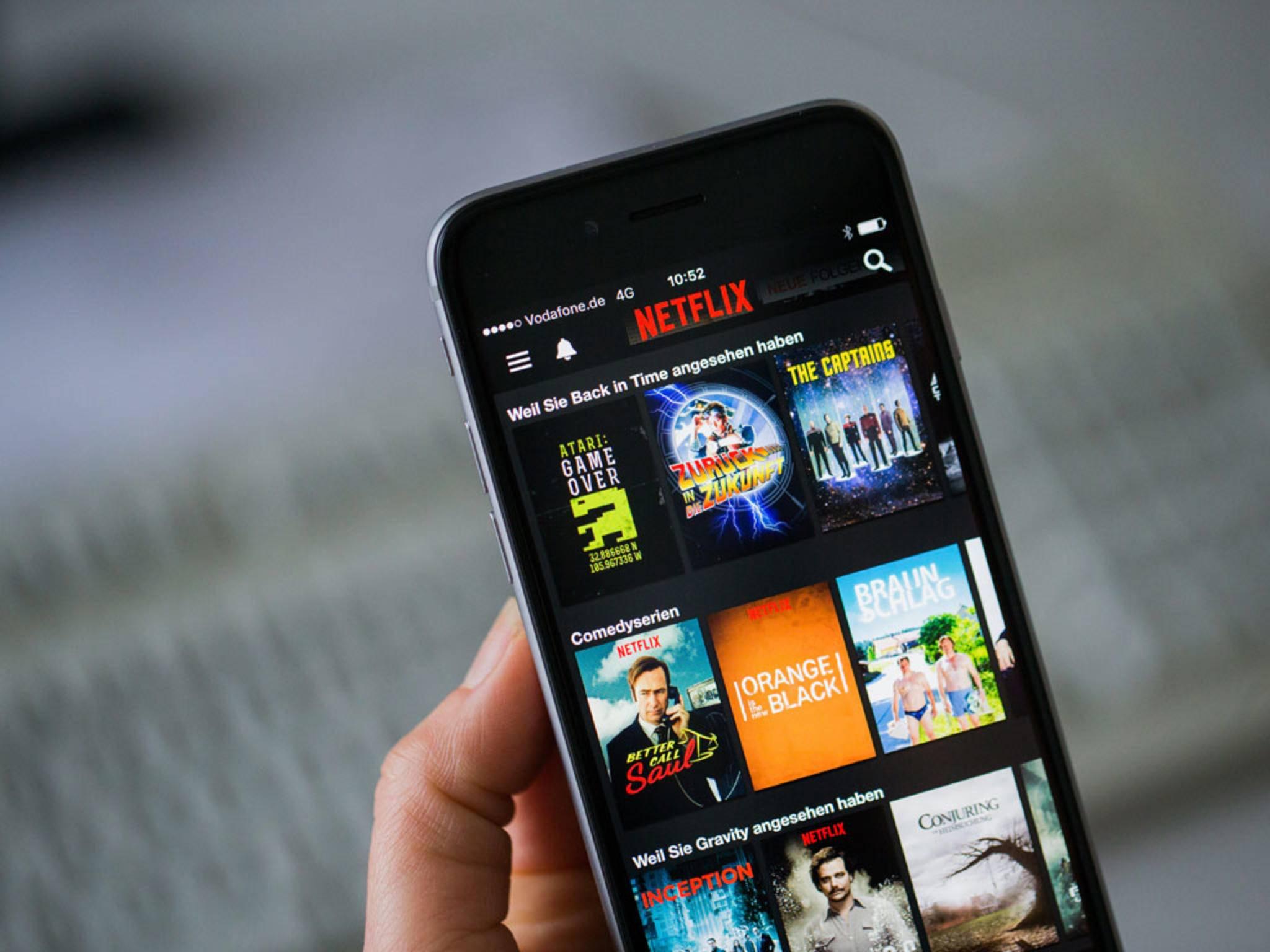 Netflix Verlauf löschen