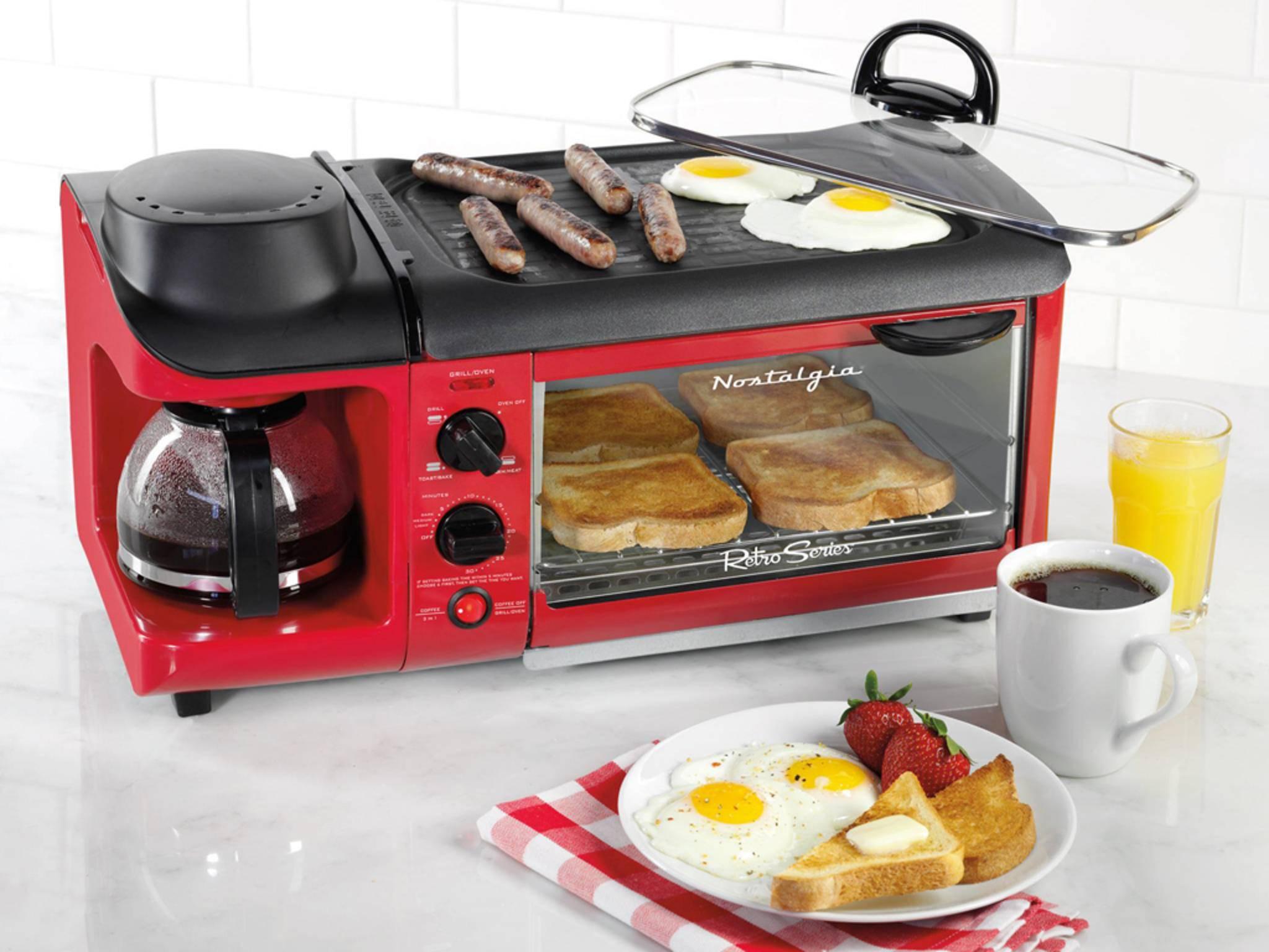 Nostalgia 3-in-1 Breakfast Station