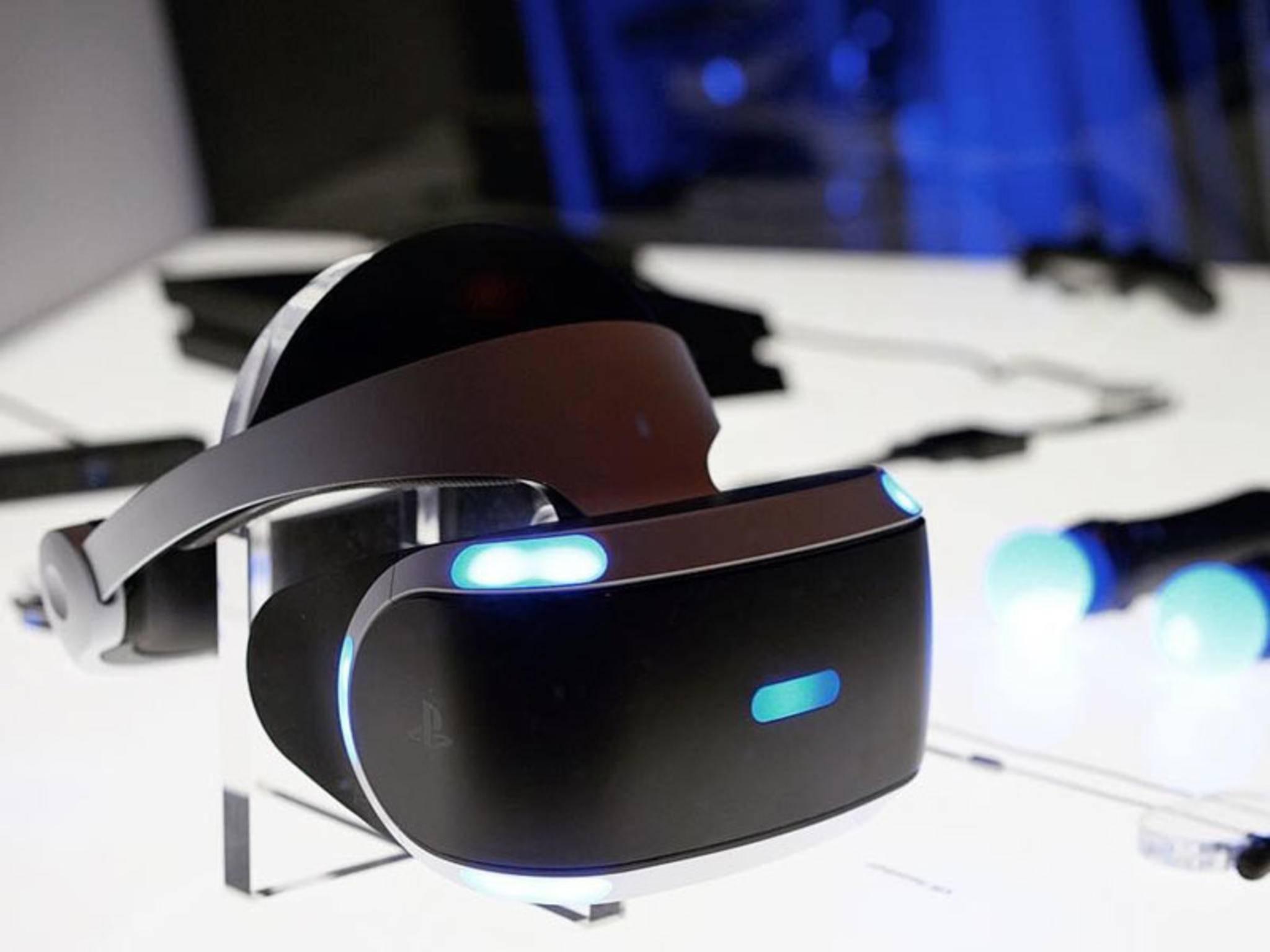 PlayStation VR steht vor der Tür.