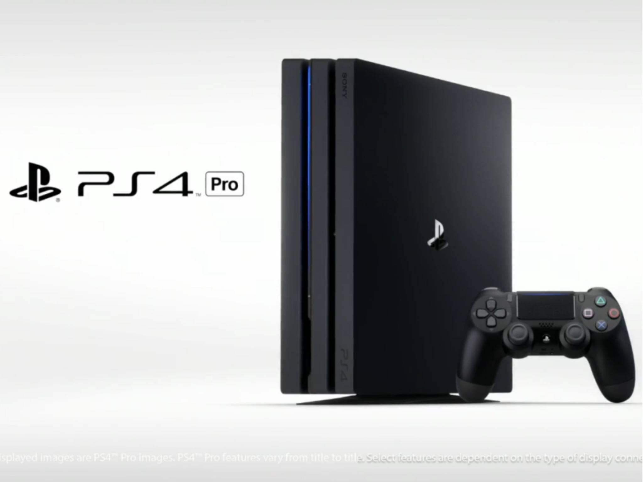 Die PS4 Pro ist eine aufgemotzte PlayStation 4.