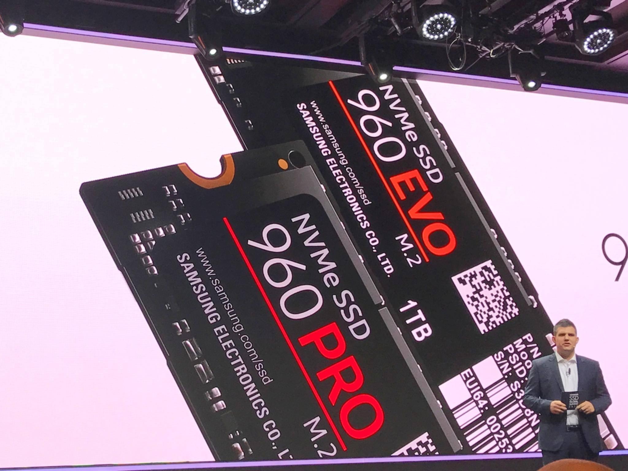 Die 960 Pro ist die neue Super-SSD von Samsung.
