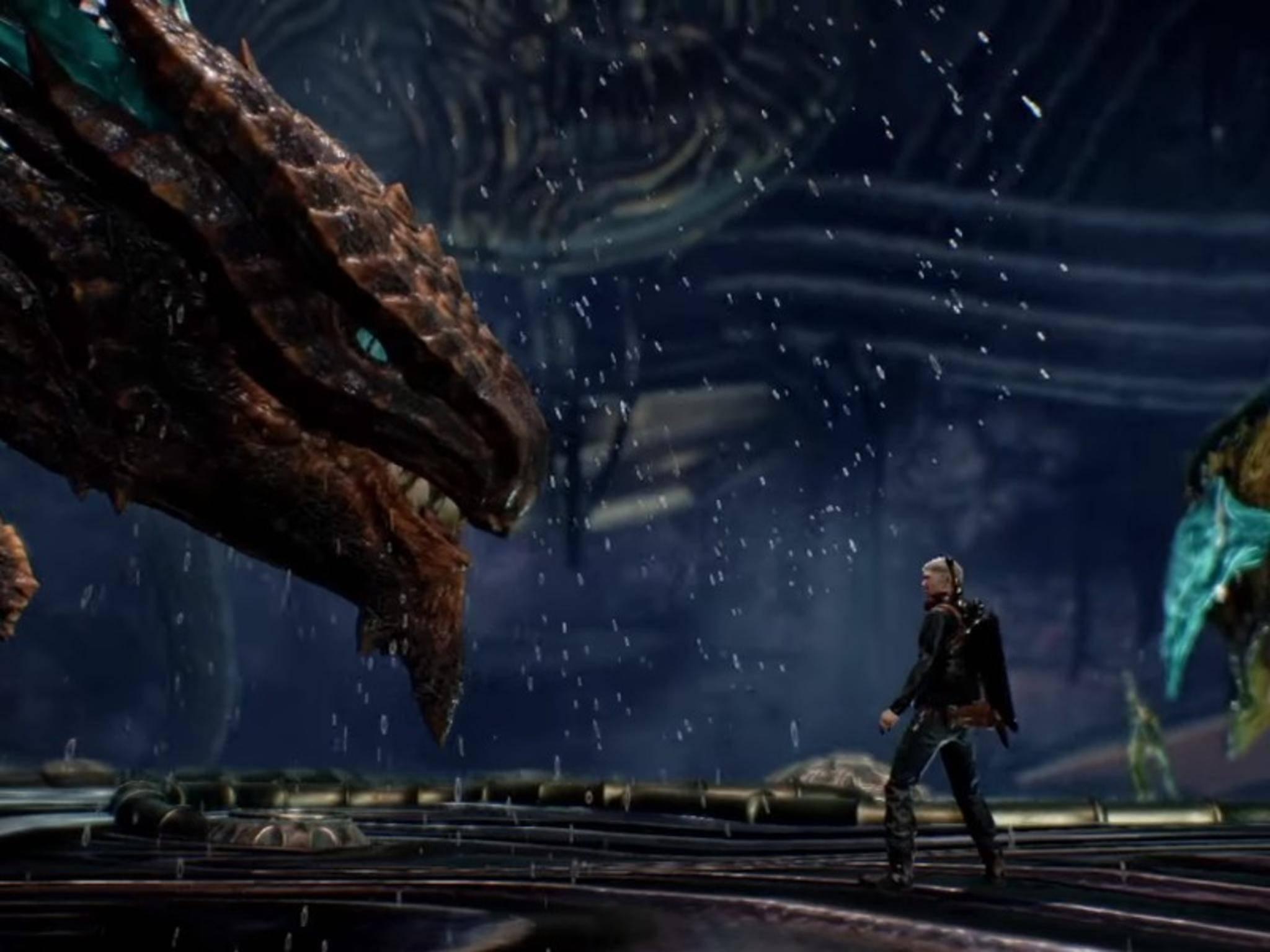 """In """"Scalebound"""" kämpfst Du an der Seite von Drachen."""