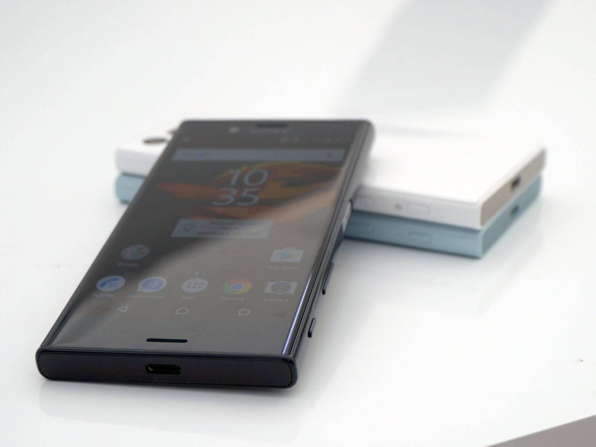 Etwas kleiner fällt das Xperia X Compact mit 4,6-Zoll-Display aus.