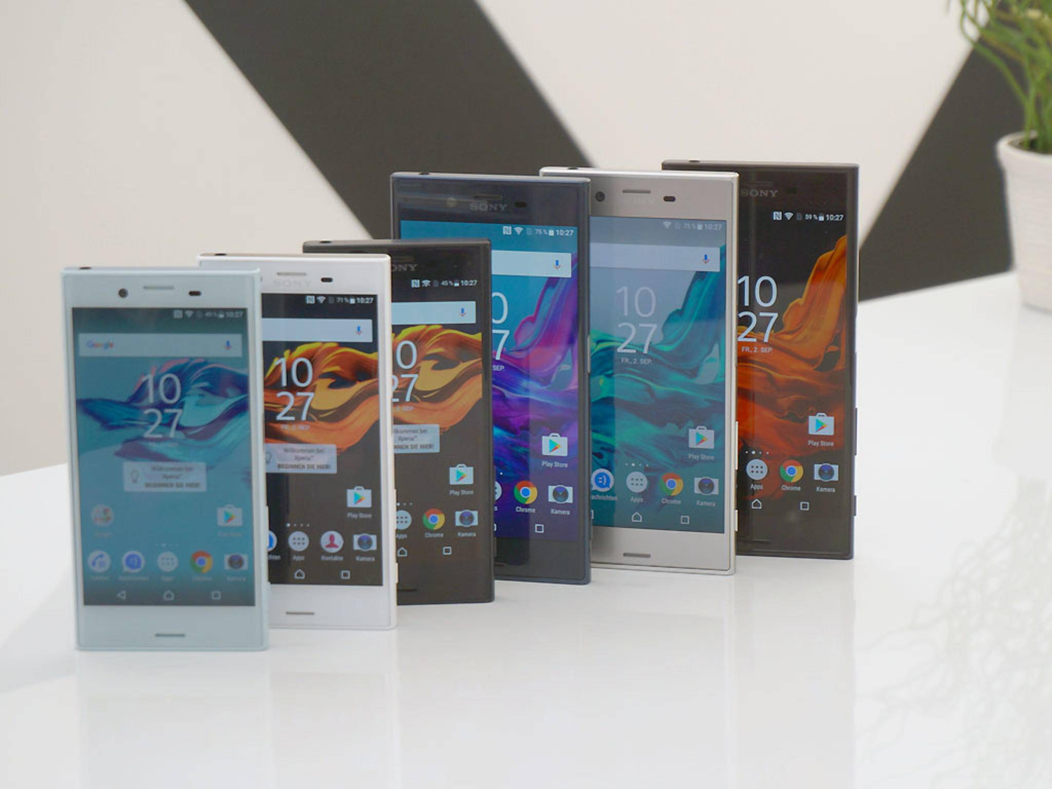 Sony Xperia: Android 7 Nougat rollt an.