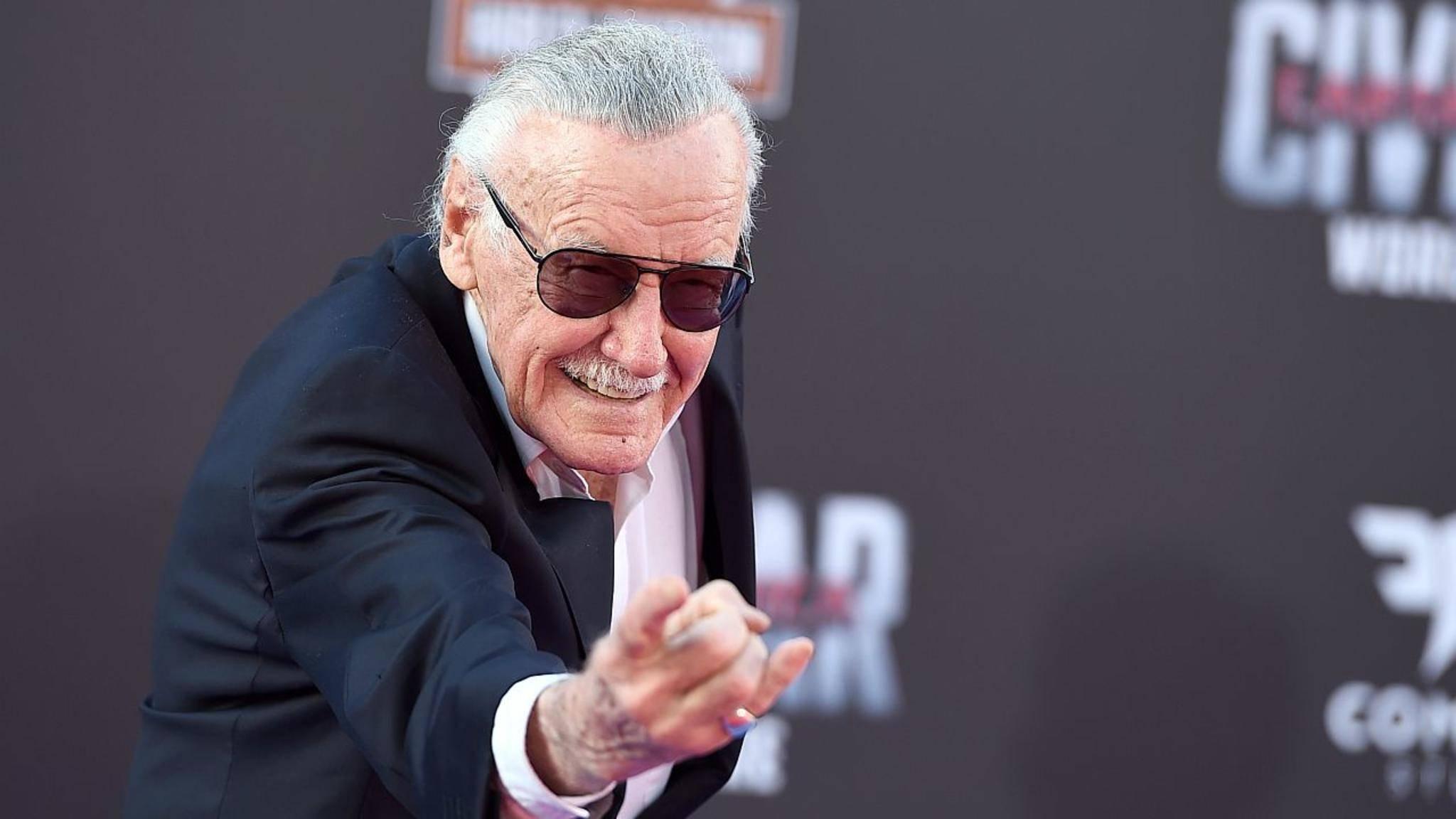 Demnächst selbst als Actionheld auf der Leinwand: Marvel-Autor Stan Lee.