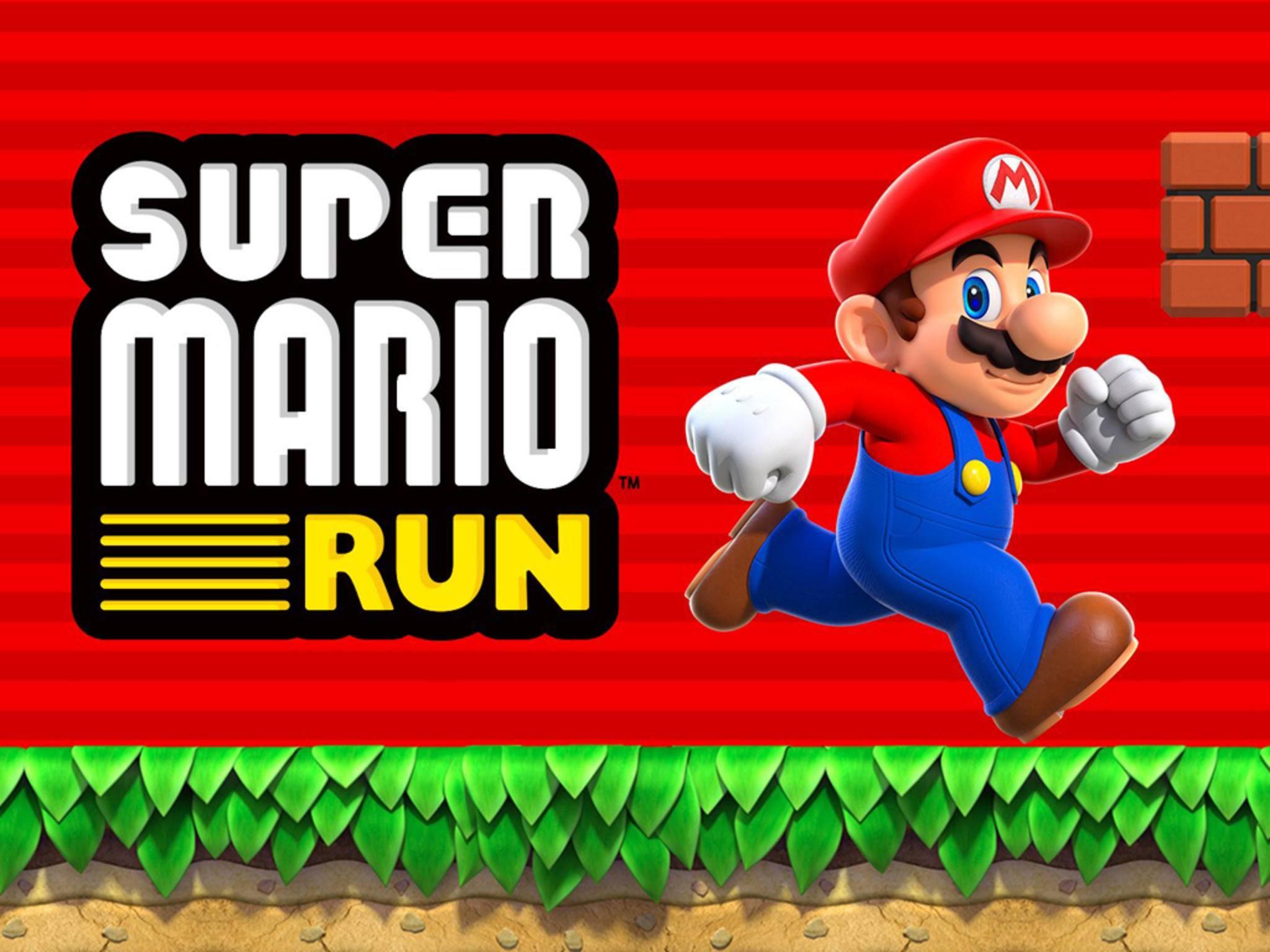 """Endlich auch für iPhone und iPad: """"Super Mario Run""""."""