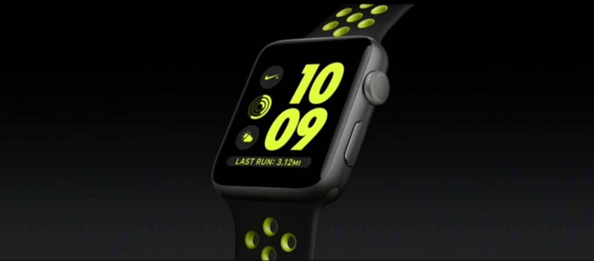 Die Apple Watch Series 2 Nike+.