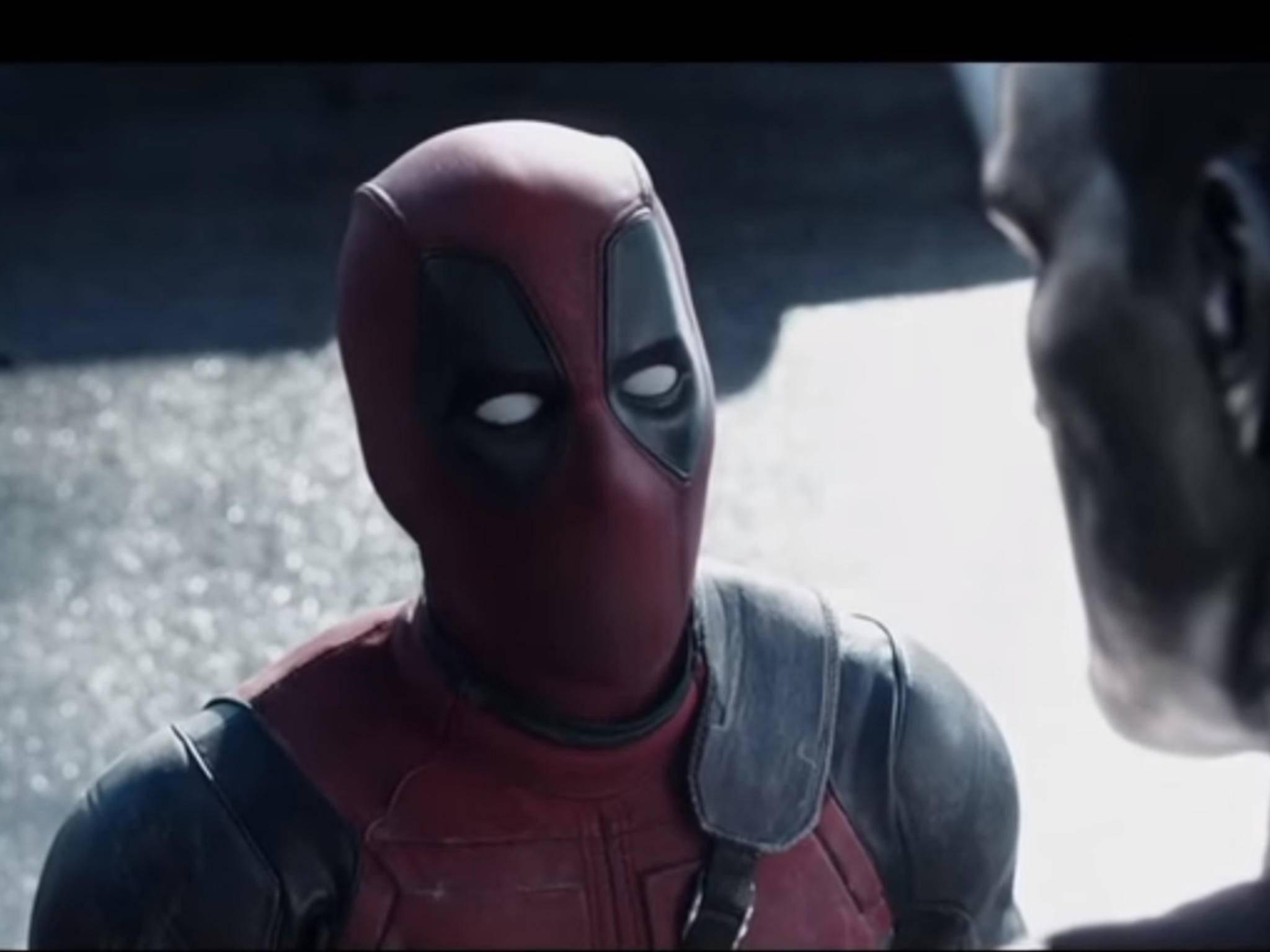 Kein Mund, trotzdem große Klappe: Deadpool
