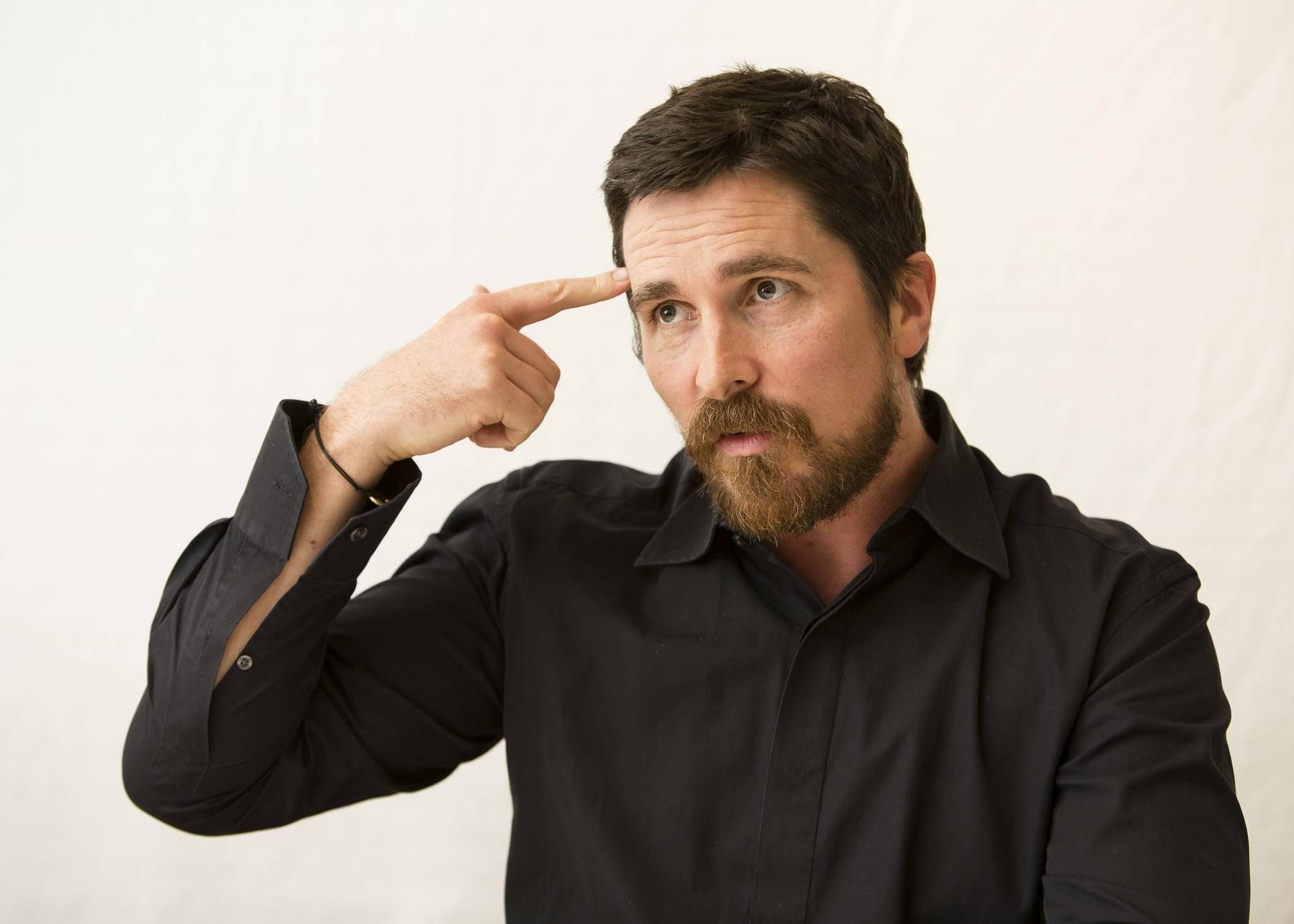 Auch für Christian Bale sind Fans eher ein notwendiges Übel.
