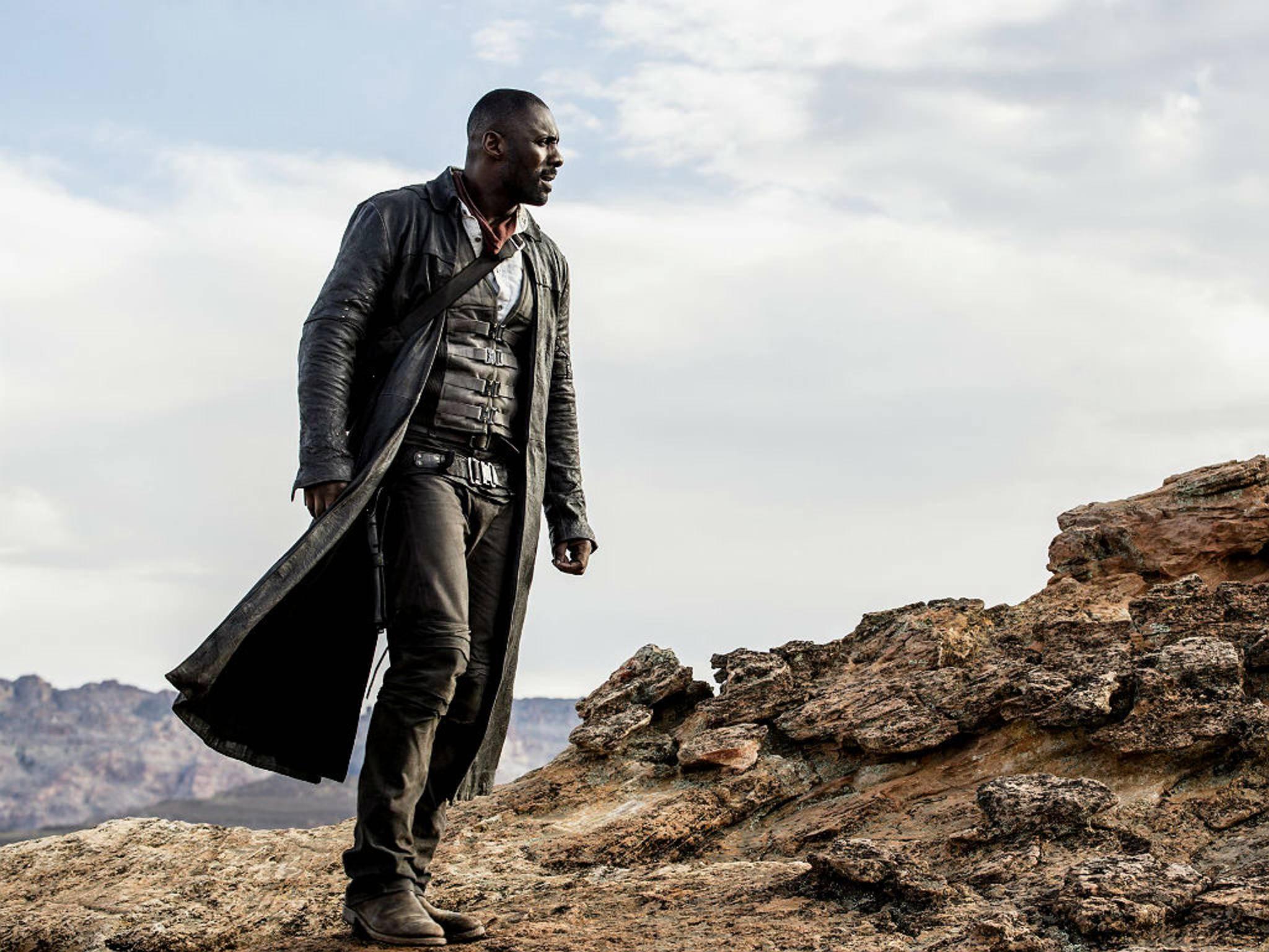 So sieht offenbar Idris Elba als Roland Deschain aus.