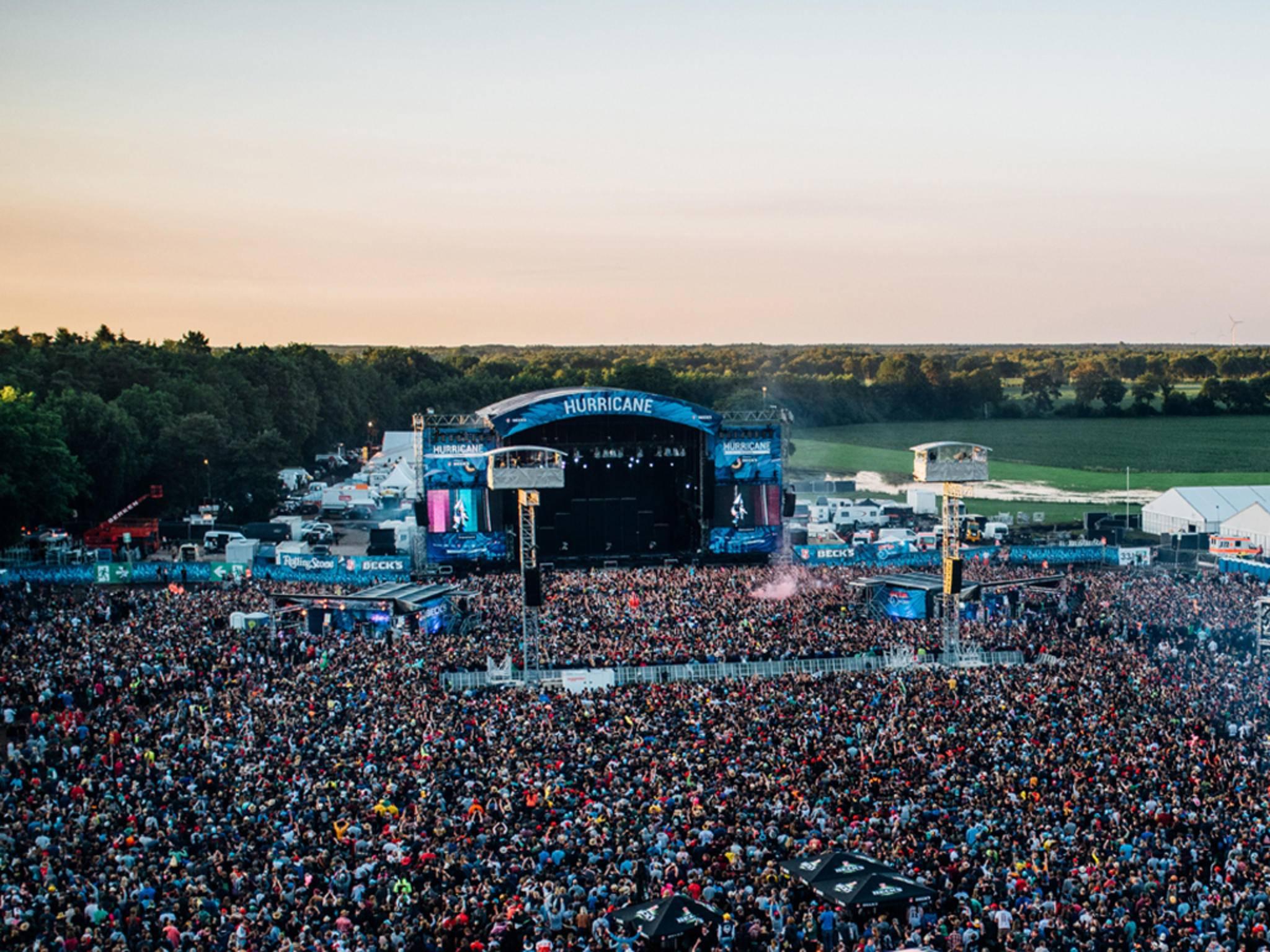 """Bestes Festival 2016: Das Hurricane in Scheeßel (Niedersachsen) sicherte sich den Hauptpreis bei den """"Helga!""""-Awards."""