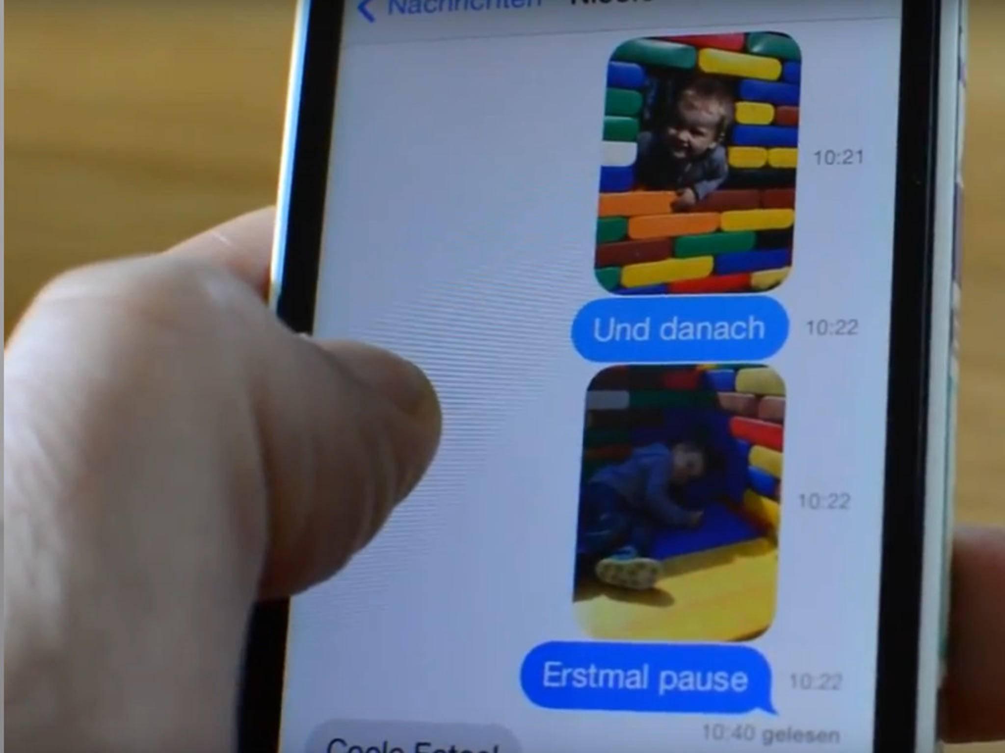 Mit iMessage kannst Du viel mehr als nur Text verschicken.