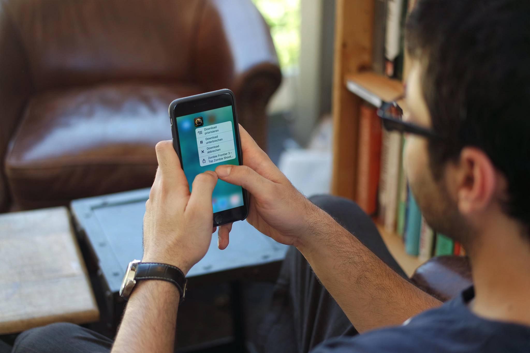 3D Touch bietet in iOS 10 einige neue Möglichkeiten.