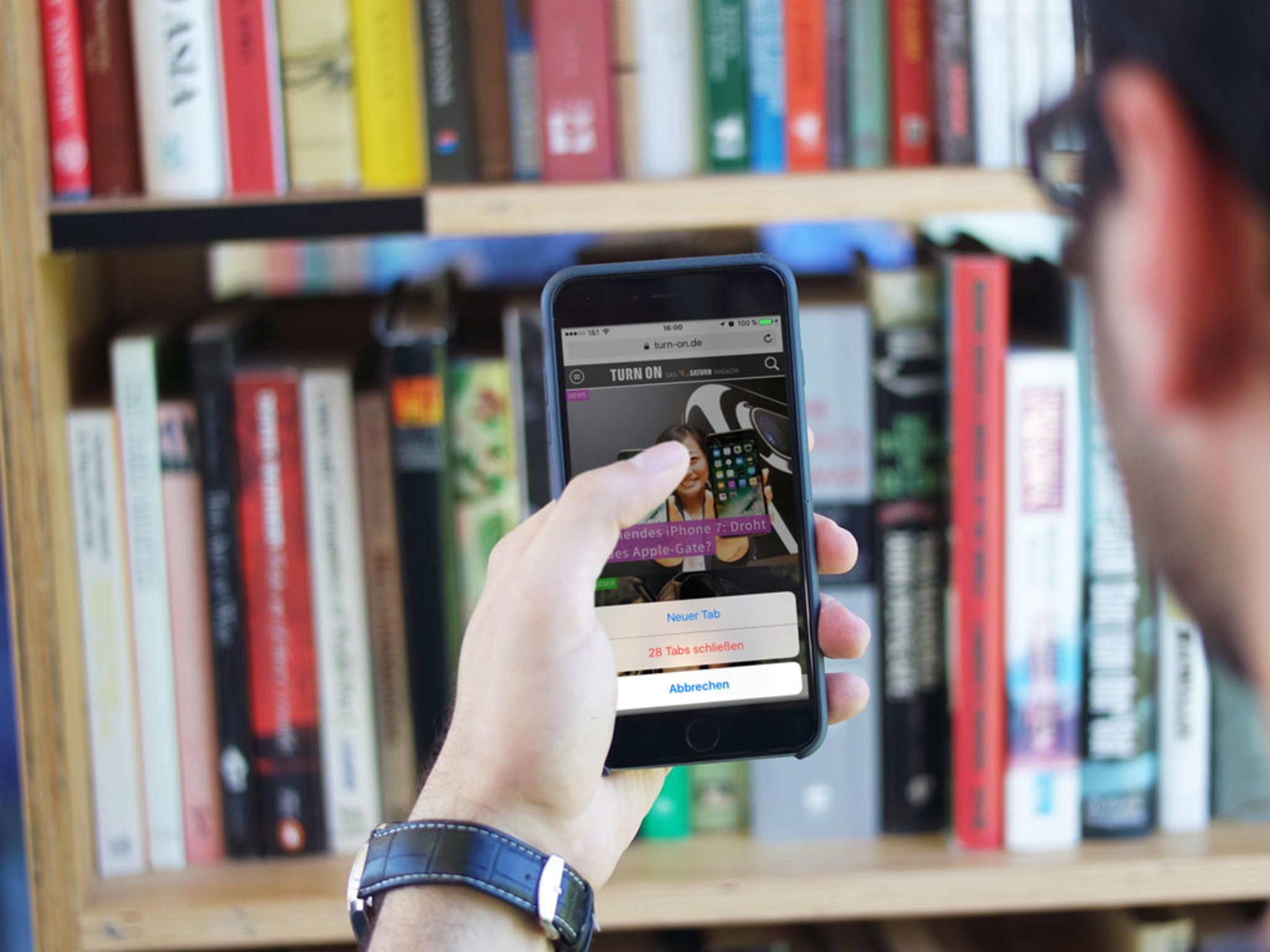 Surfen auf dem iPhone macht nicht nur Spaß, sondern auch äußerst flüssig.