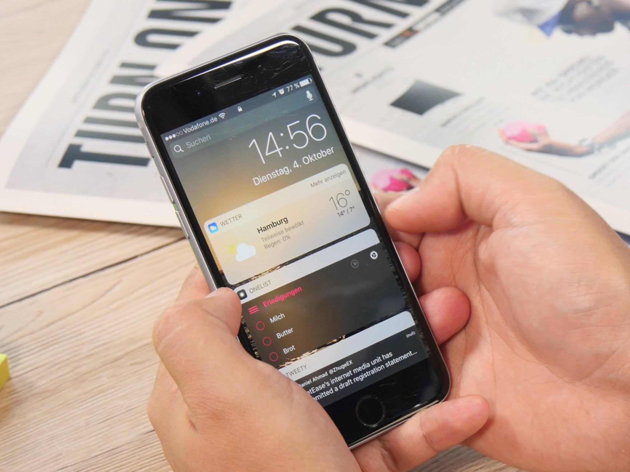 Die Videos-App bekommt mit iOS 10.2 ein neues Widget.