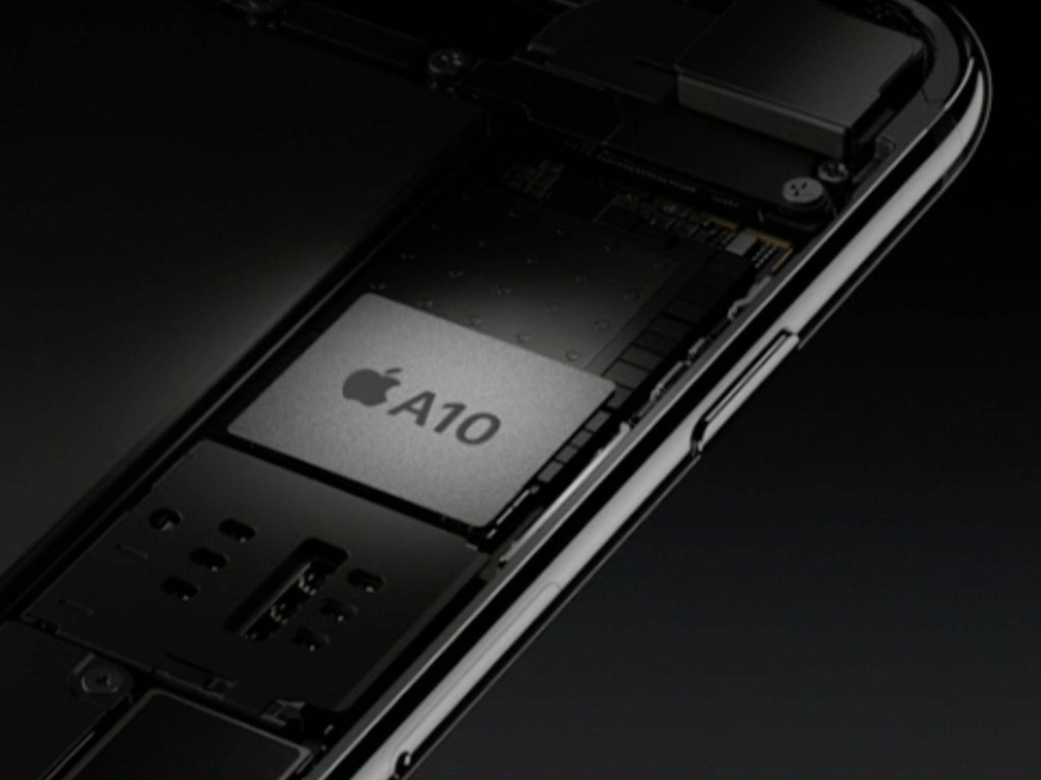 Der Apple A10 Fusion hat sich als der aktuell schnellste mobile Chip erwiesen.