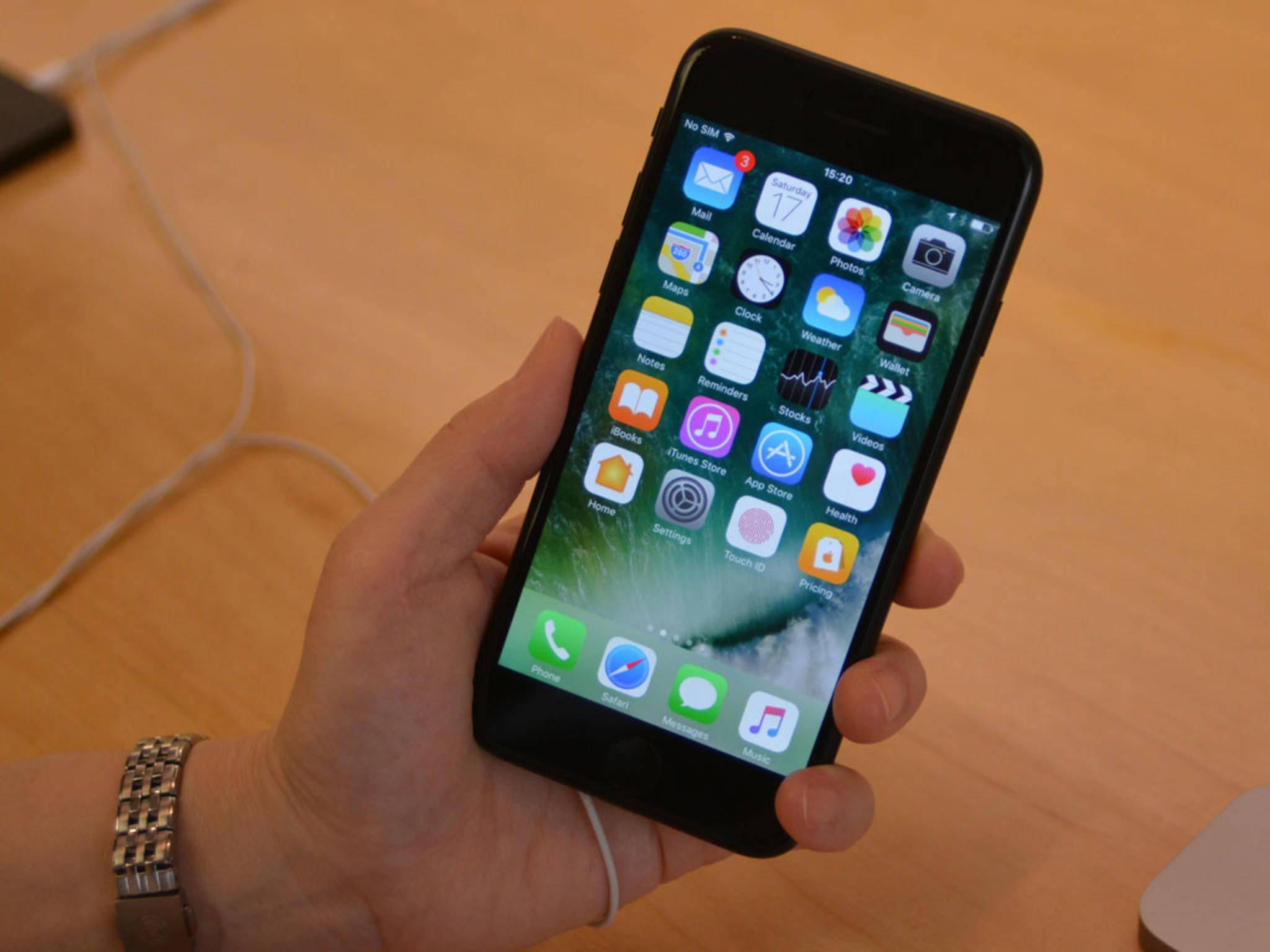 Der LCD-Screen des iPhone 7 ist derzeit das Maß aller Dinge..