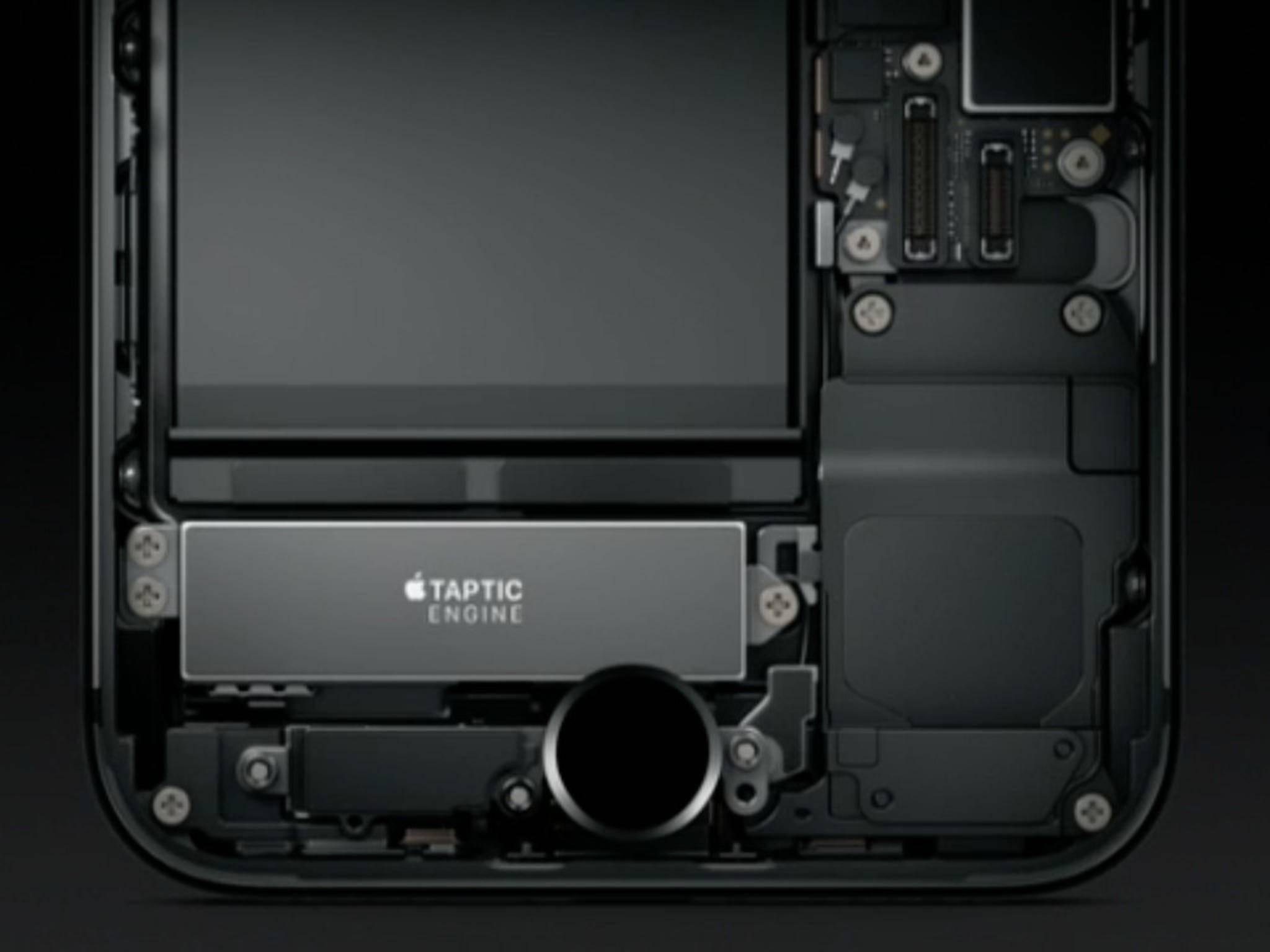 Der neue Home-Button des iPhone 7 fühlt sich gewöhnungsbedürftig an.