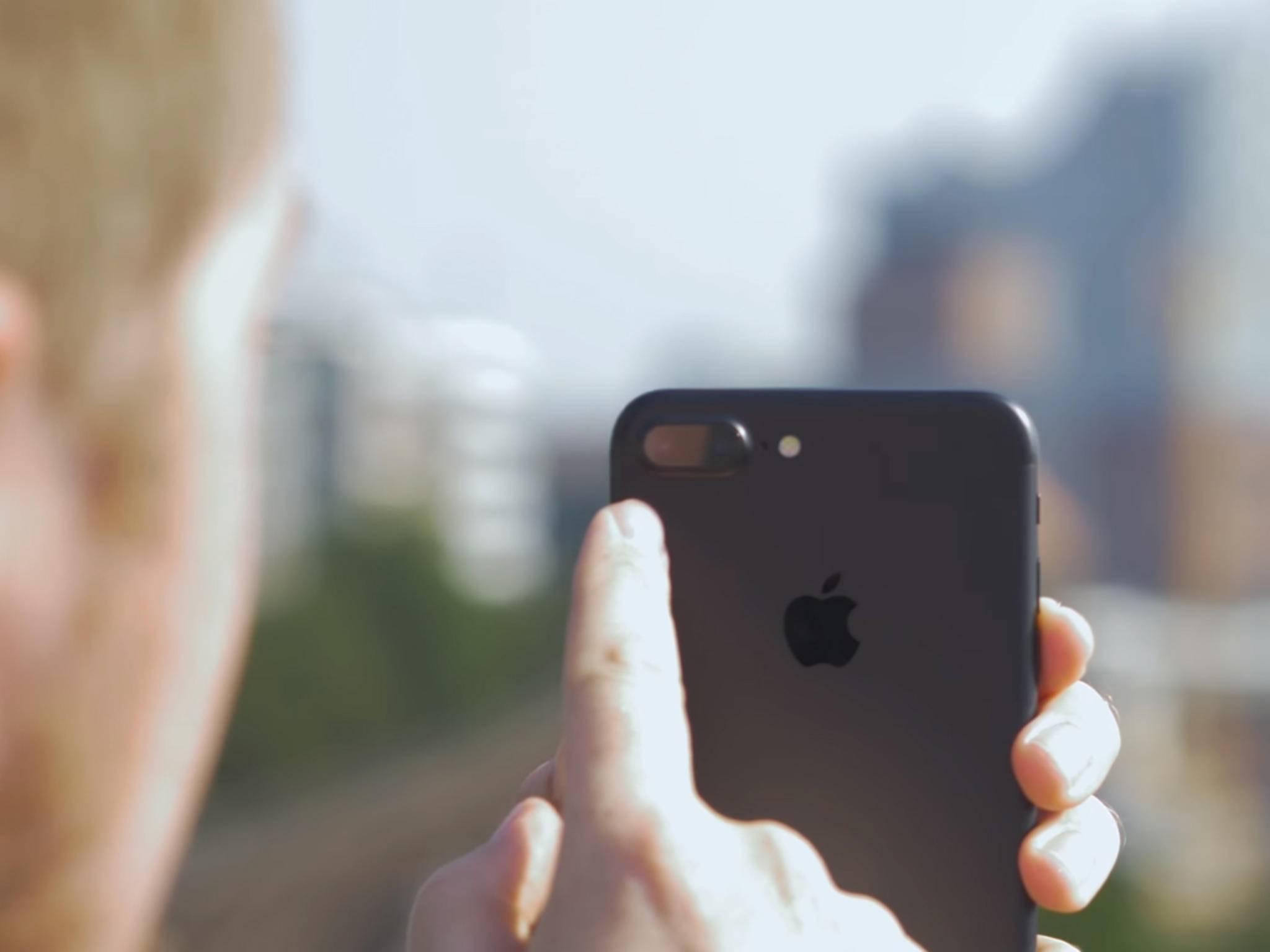 iOS 10.1 fügt dem iPhone 7 Plus den Porträt-Modus hinzu.