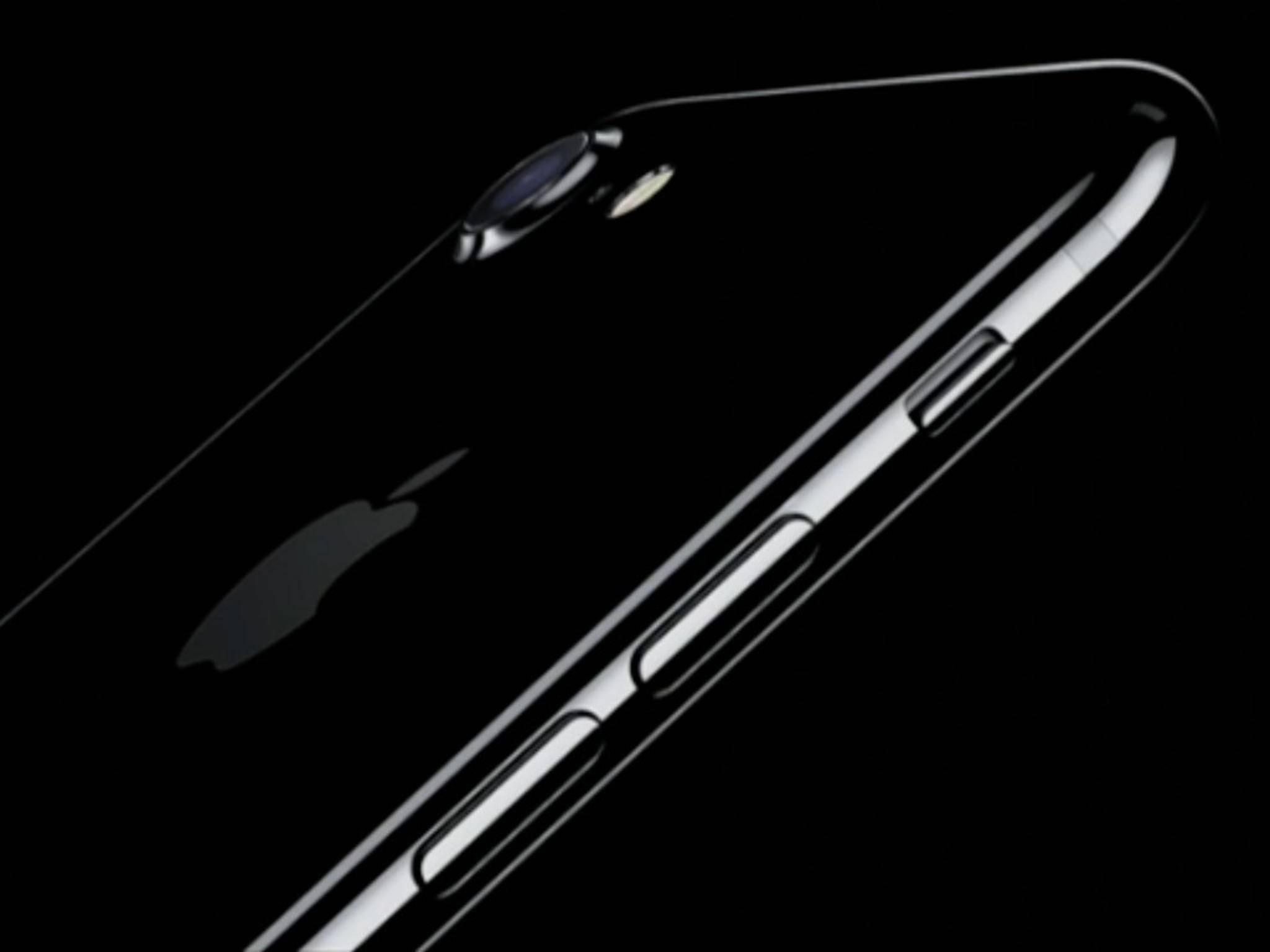iPhone 7 in Diamantschwarz: Schön, aber schwierig herzustellen.