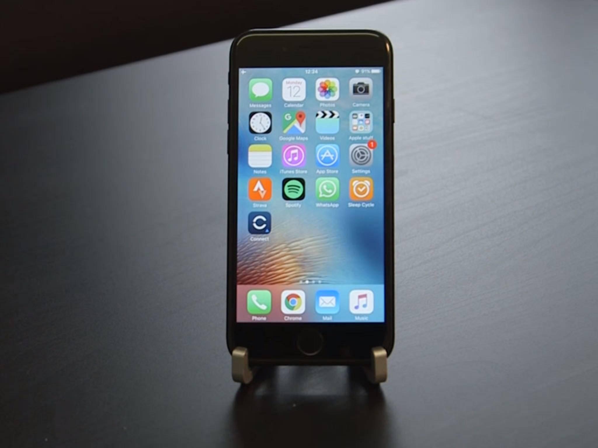 Das iPhone 7 schneidet in einem Akku-Test nicht gut ab.