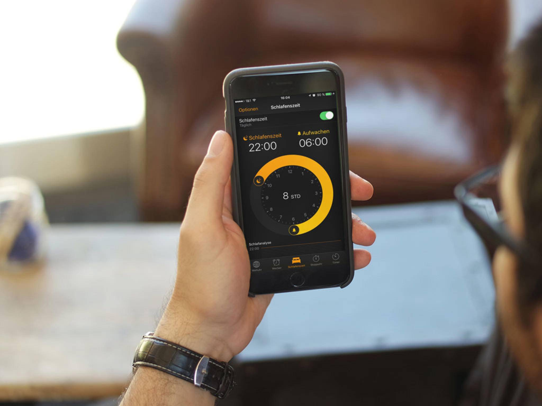 Schlafenszeit ist ein neues Feature von iOS 10.
