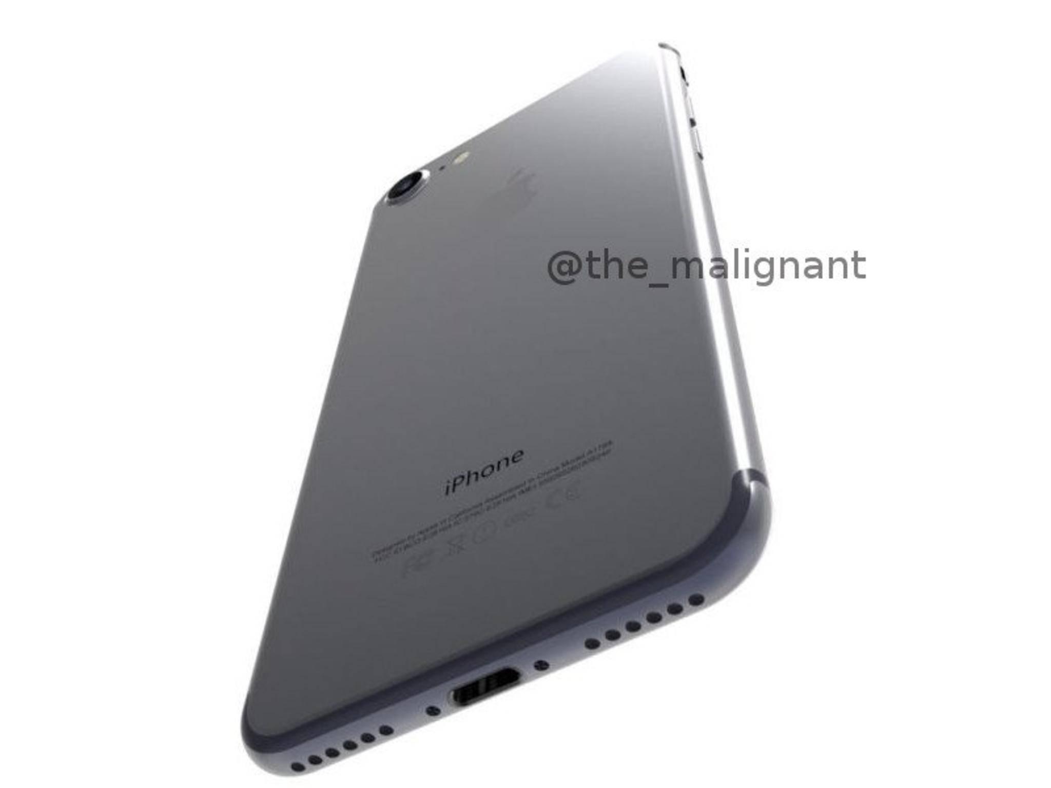 So soll es aussehen: Das iPhone 7.