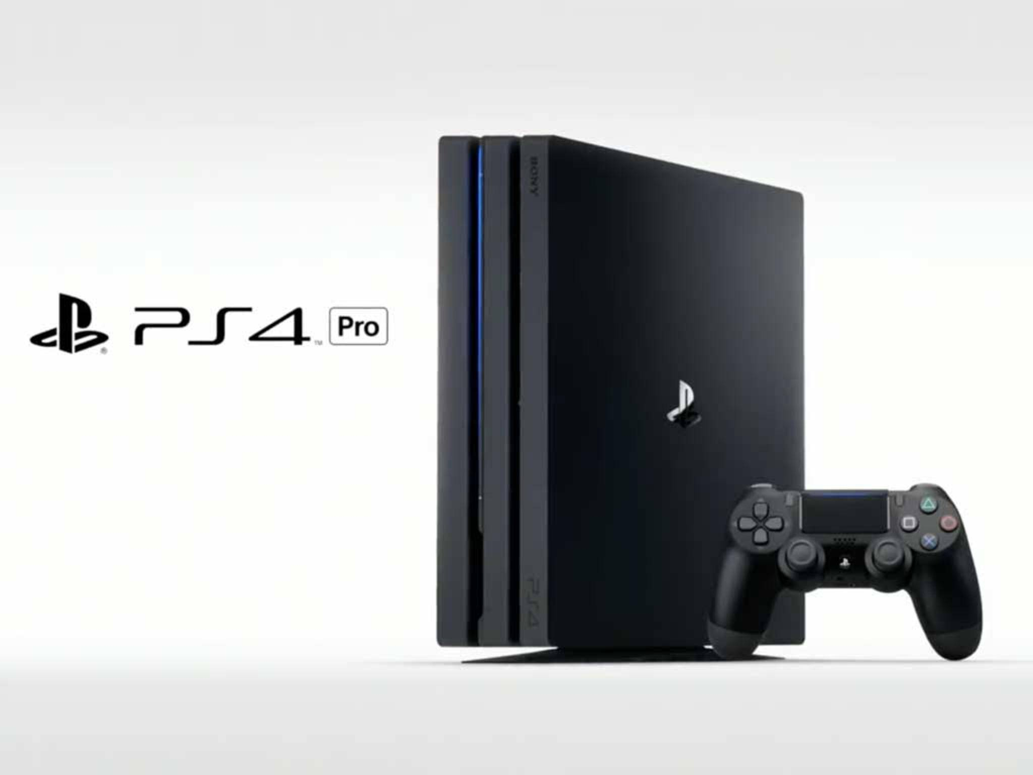 Sony bringt die PlayStation 4 Pro im November auf den Markt.