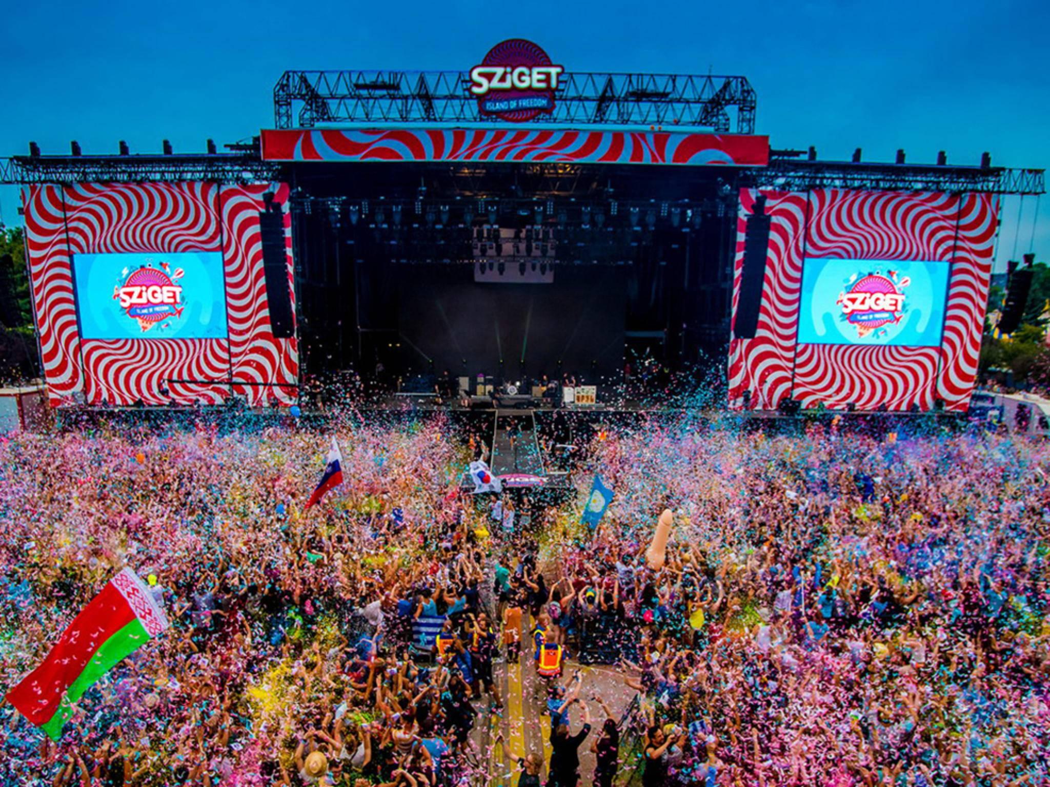 sziget 2016 festival