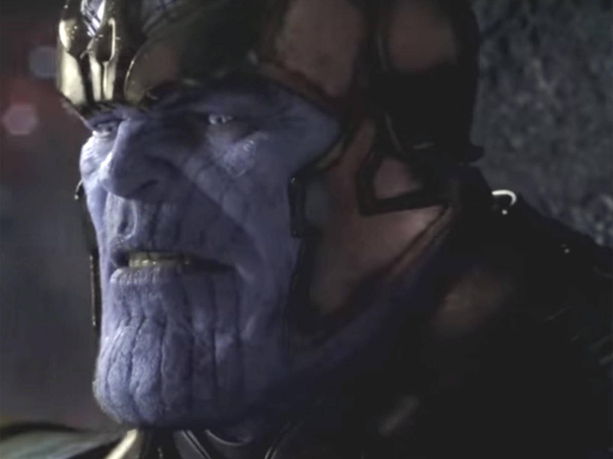 Grimmiger Gigant: Josh Brolin verkörpert Thanos im Marvel-Universum per Motion-Capture-Technik.