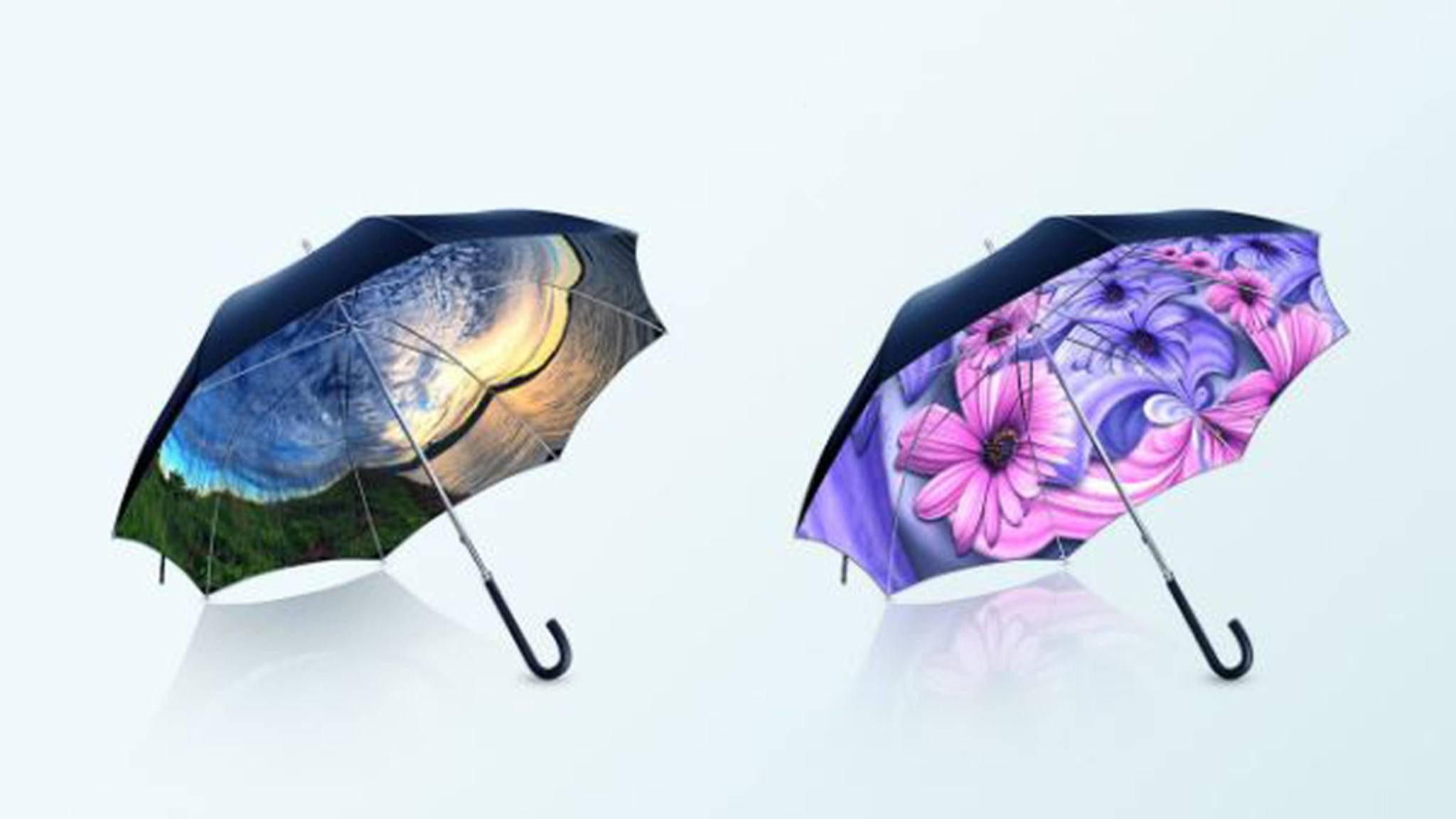 Panorella macht das Regenwetter bunt.