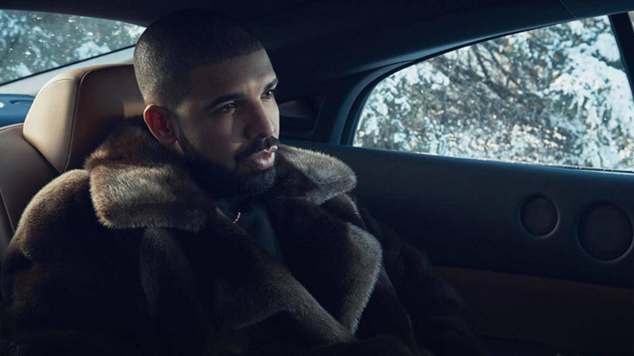 Anfang 2017 kommt der kanadische Rap-Star Drake nach Europa.