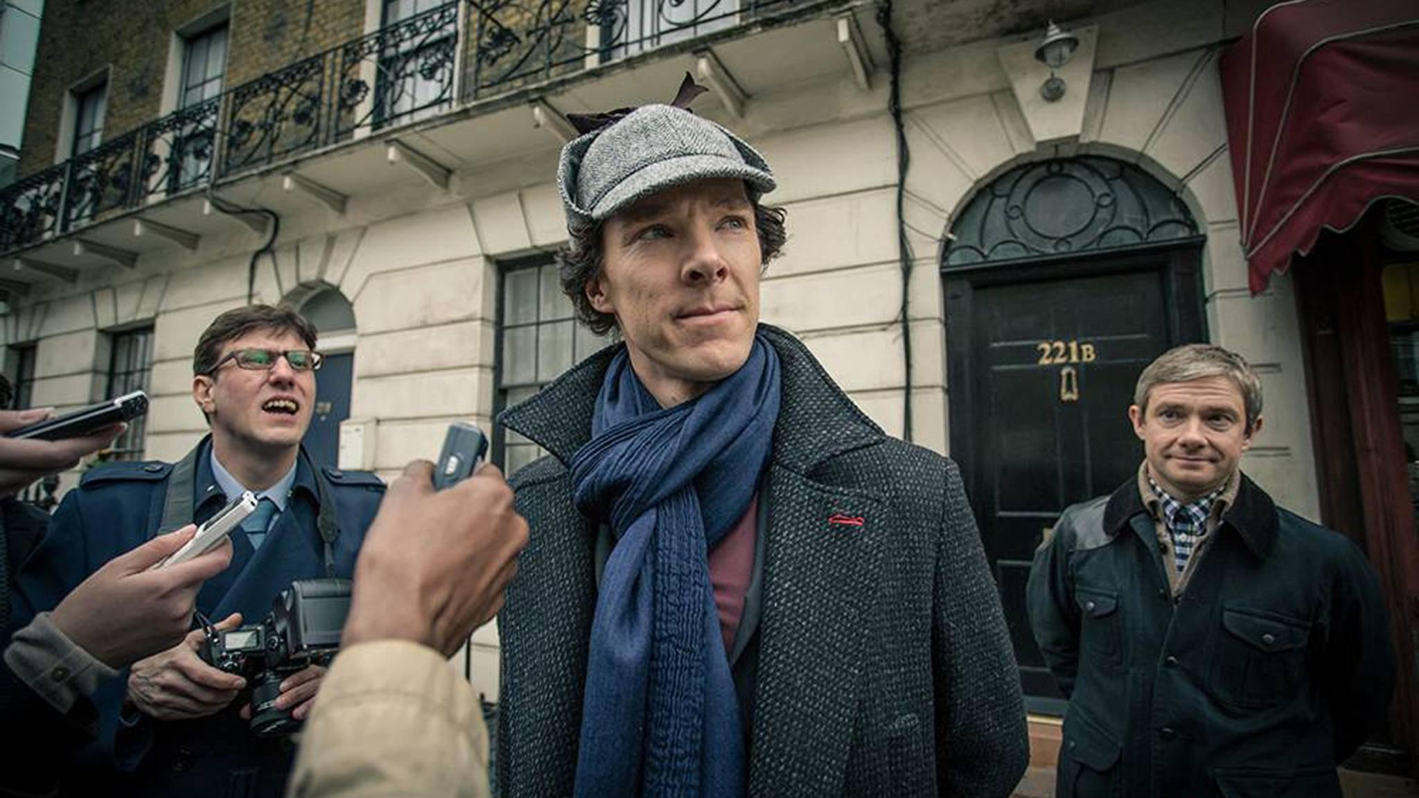 Zu beschäftigt für Staffel 5? Benedict Cumberbatch als Kult-Detektiv Sherlock Holmes.