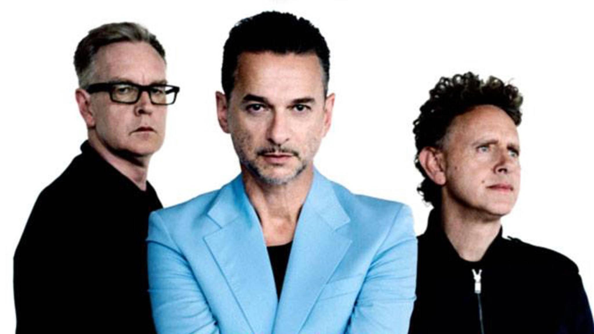 Neues Album, große Tour: Depeche Mode haben 2017 Großes vor.