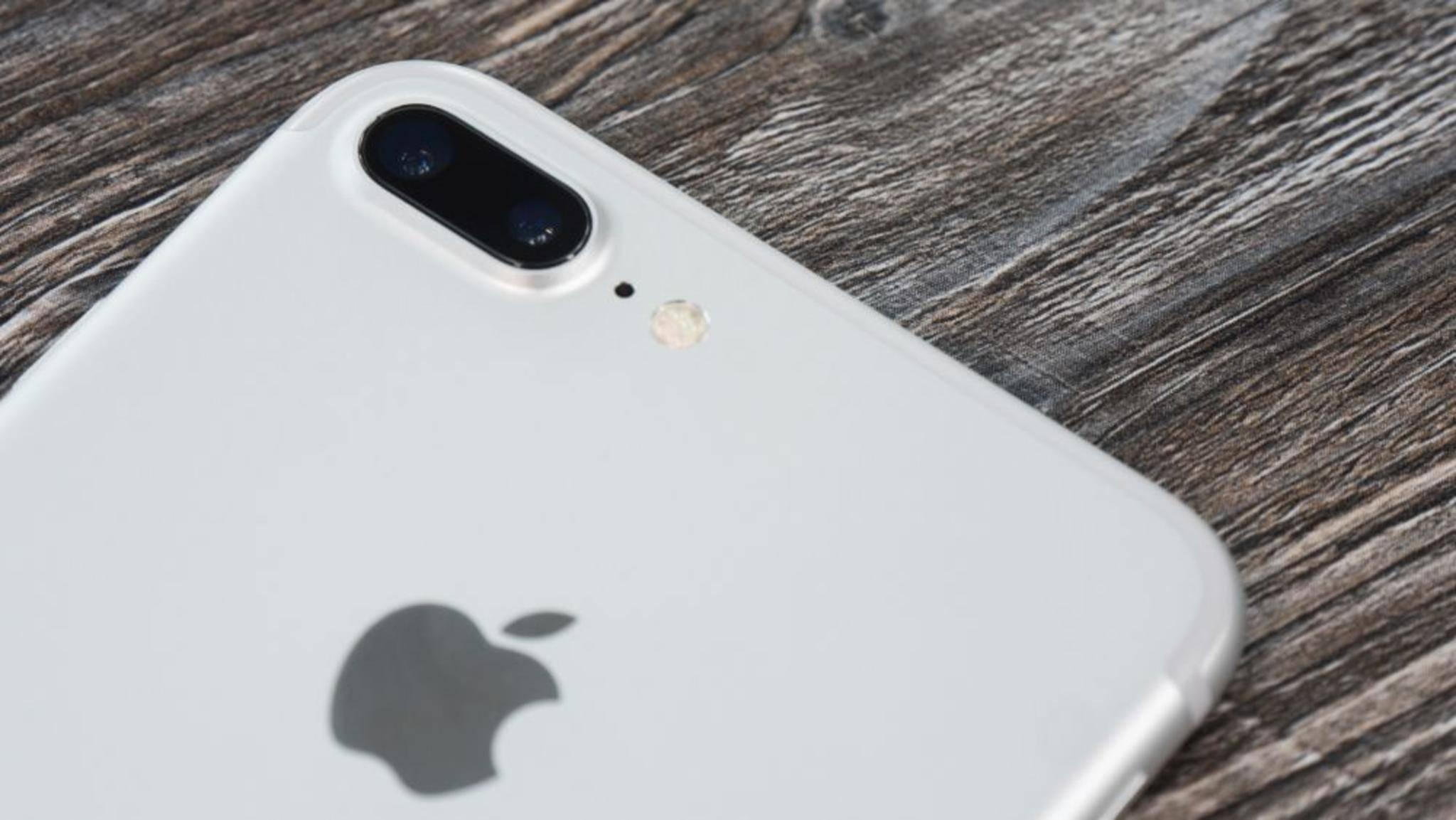 Strahlt 1,24 W/kg: Das iPhone 7 Plus.