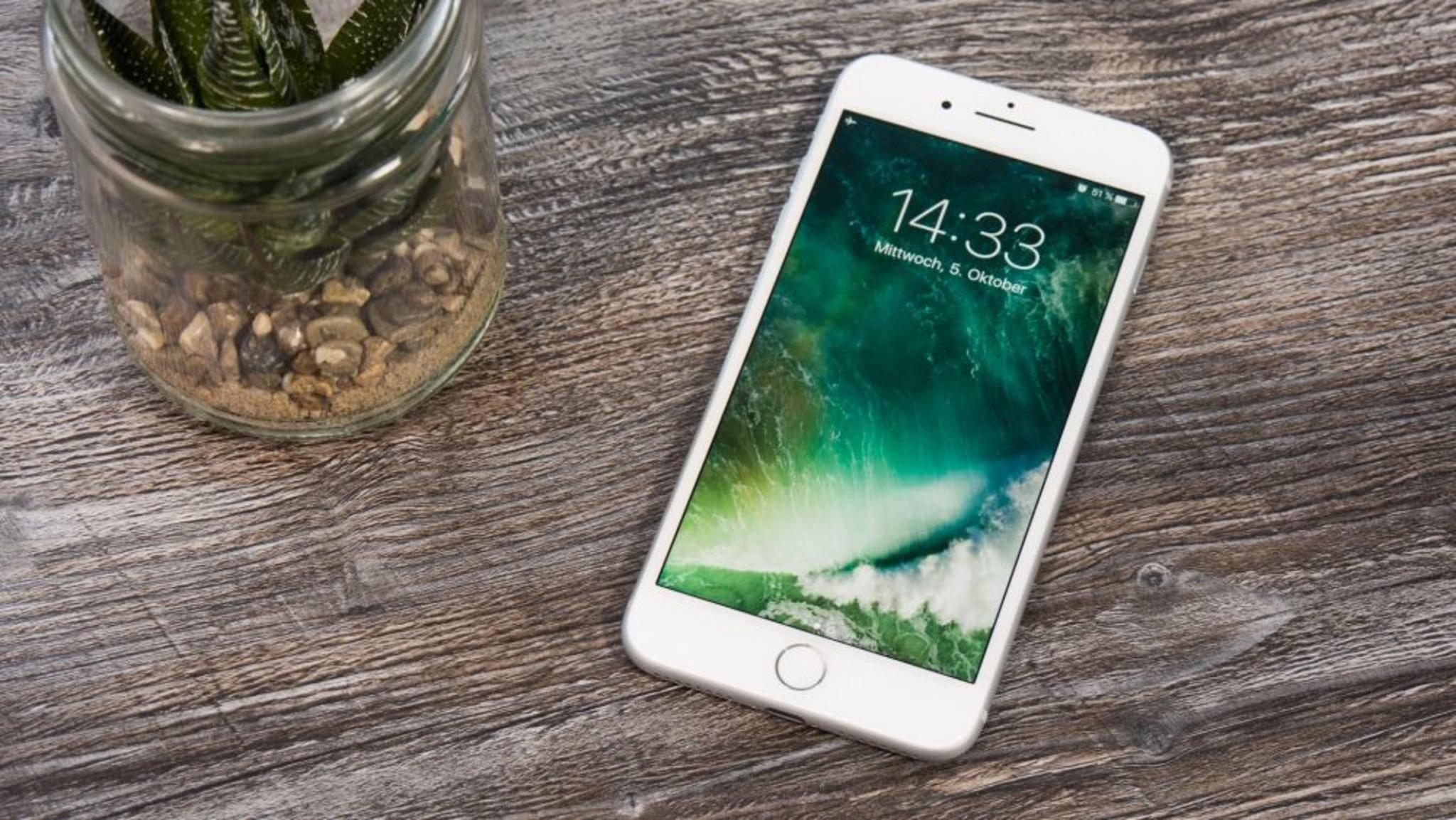 Selbst das iPhone lässt sich nur mit einem Adapter verbinden.
