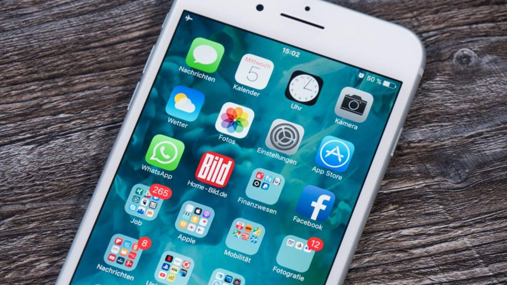 Einen Screenshot mit einem iPhone 7 Plus zu machen, ist kinderleicht.