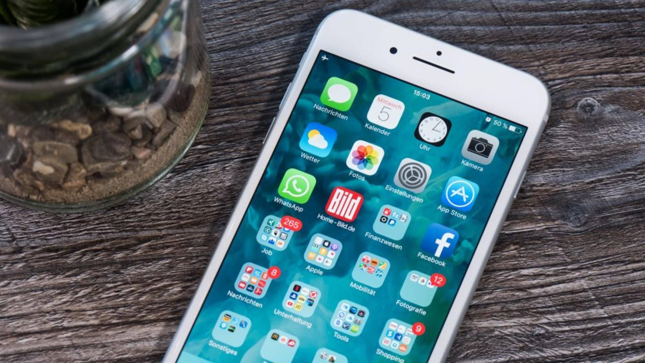 Auf dem iPhone lässt sich die Schriftgröße umfassend anpassen.